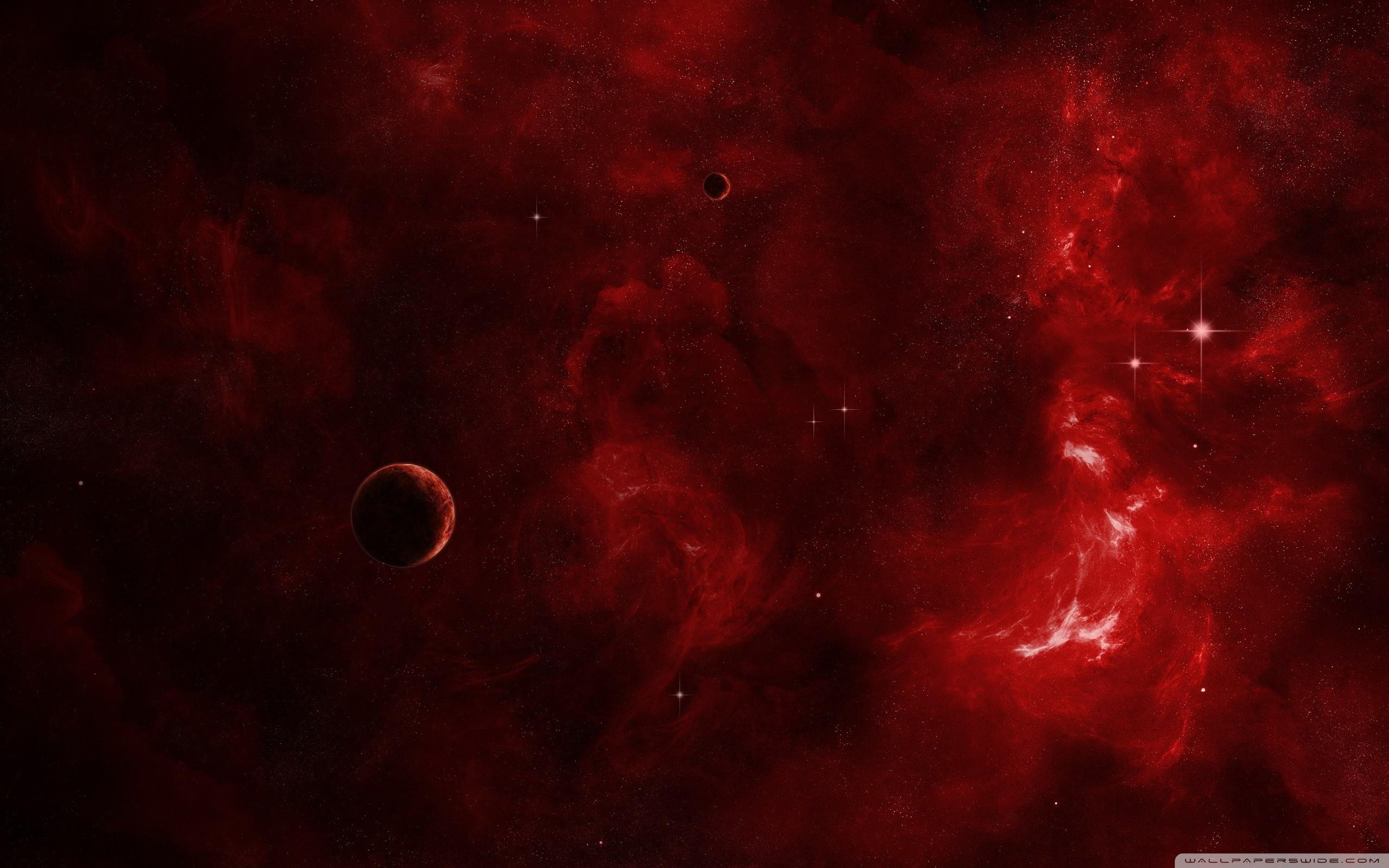 Red galaxy photo