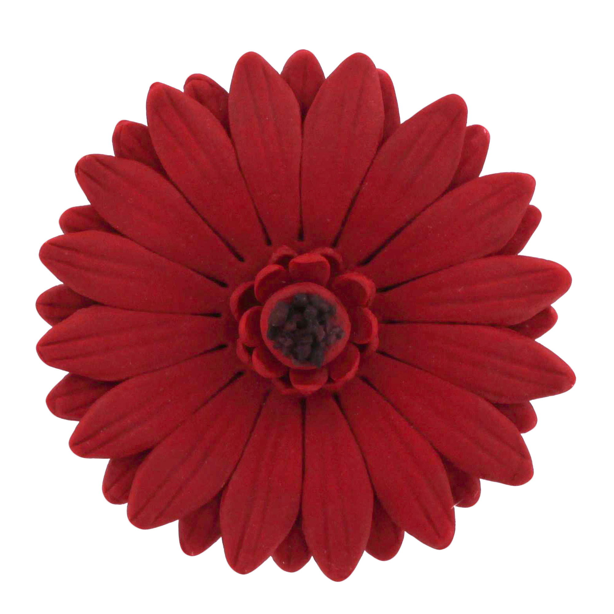 Gerbera Daisy Deep Red, 8 Count by Chef Alan Tetreault Daisies