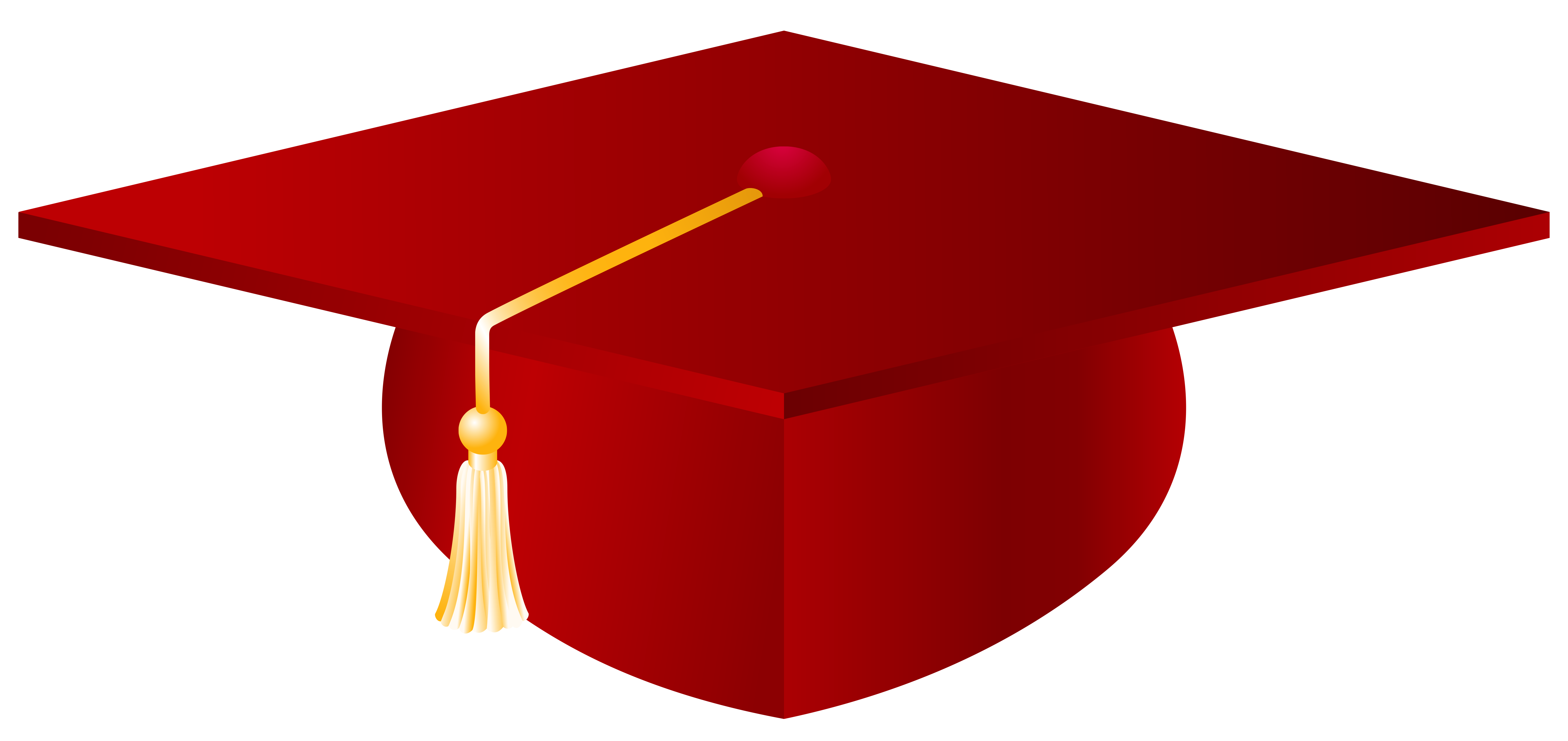 Red-Graduation-Cap-PNG-Vector-Clipart-Image | Gallery Yopriceville ...