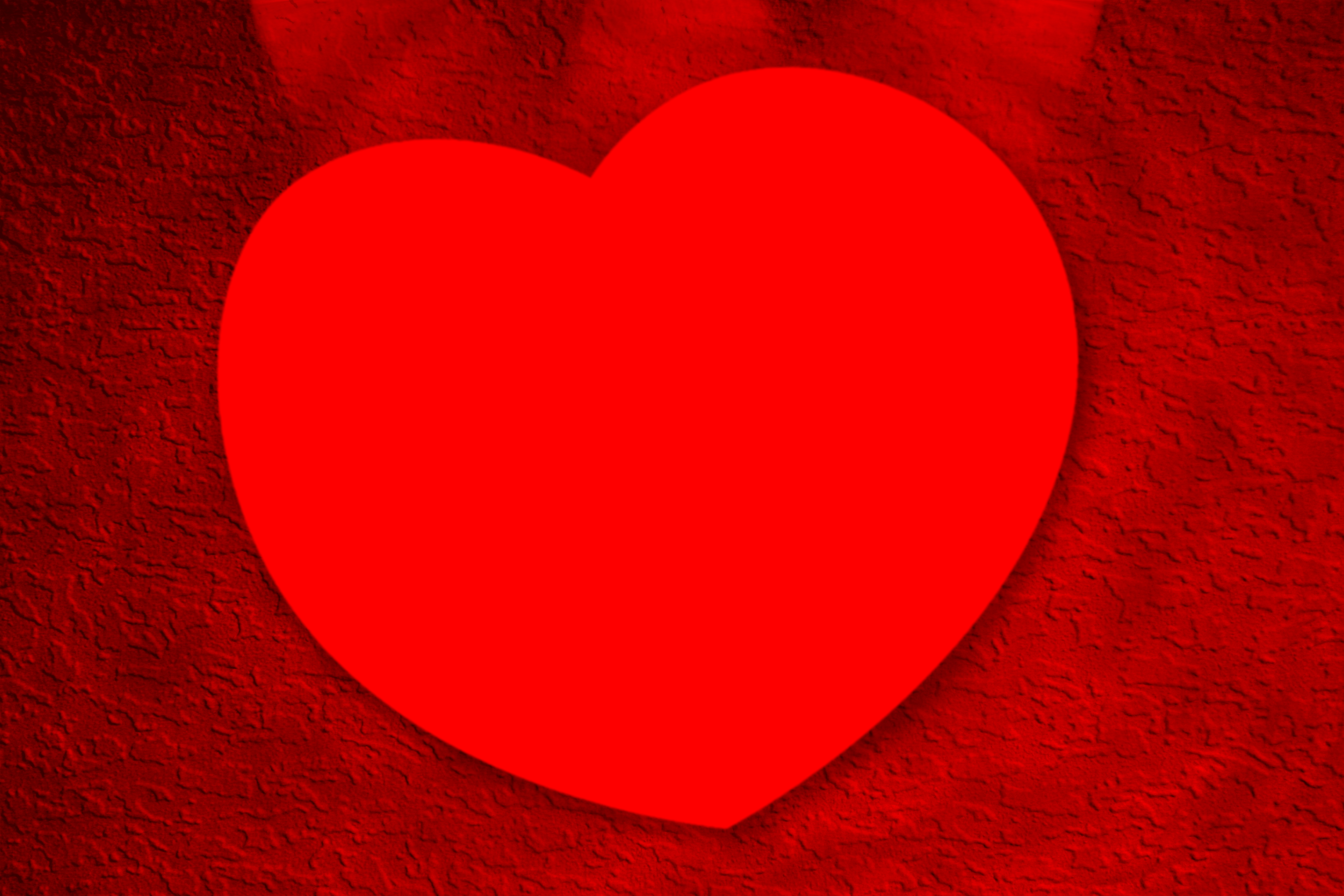 Red heart photo