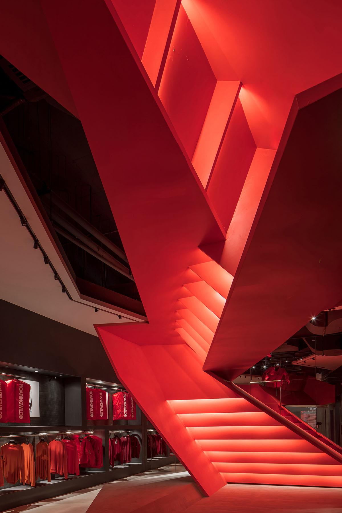 Red interior photo