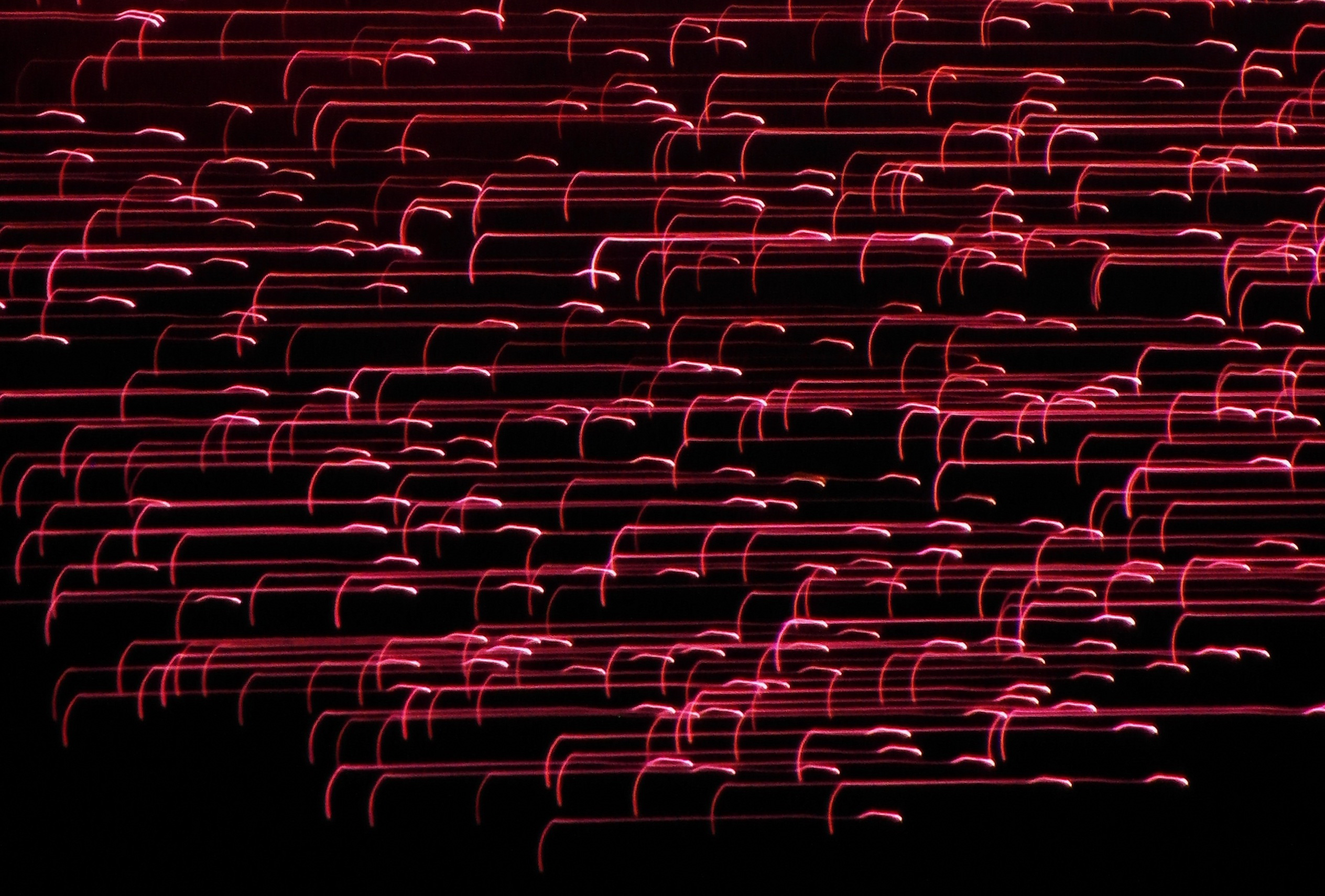 Red lines light effect photo