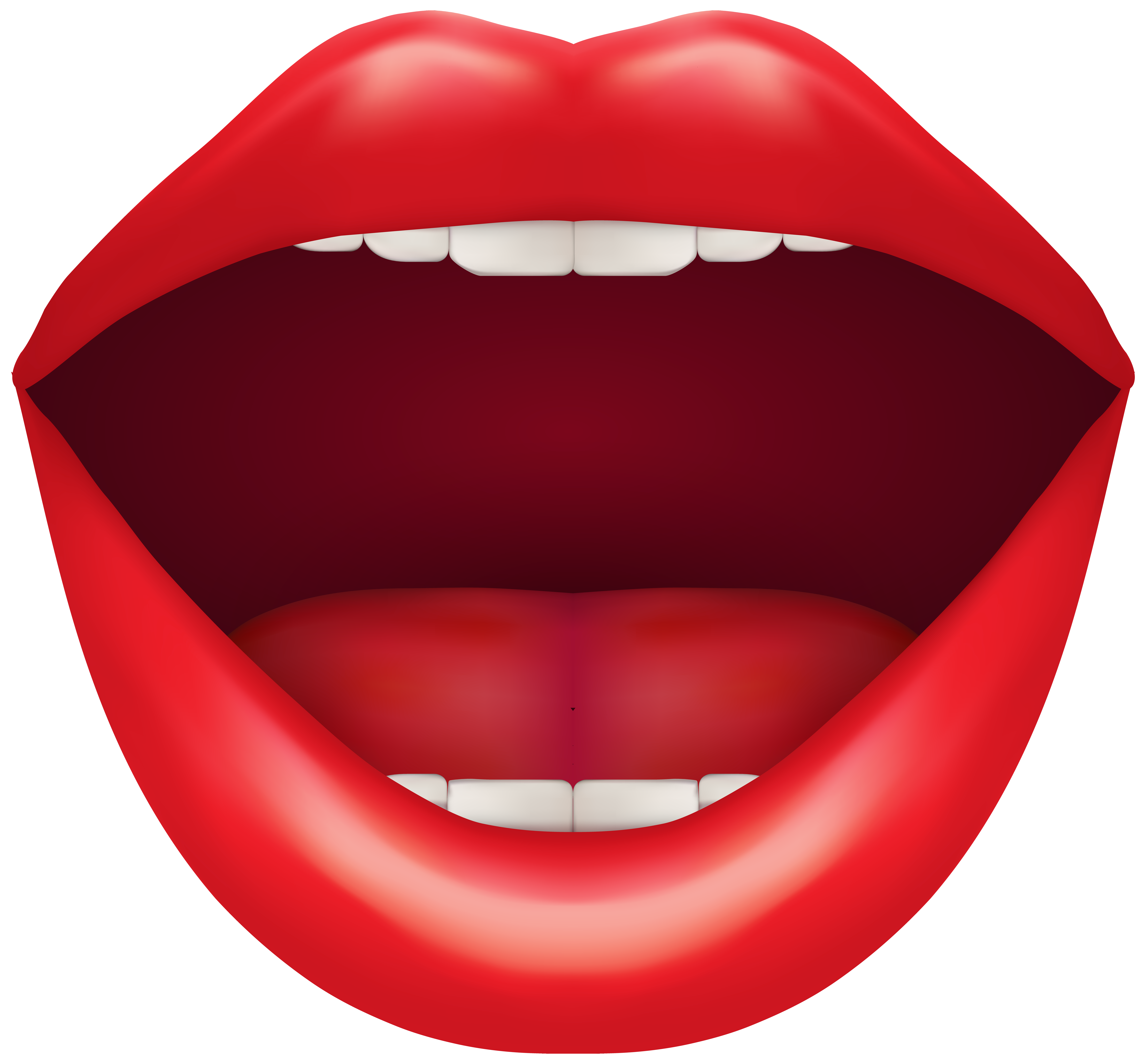 Open Red Mouth PNG Clip Art - Best WEB Clipart