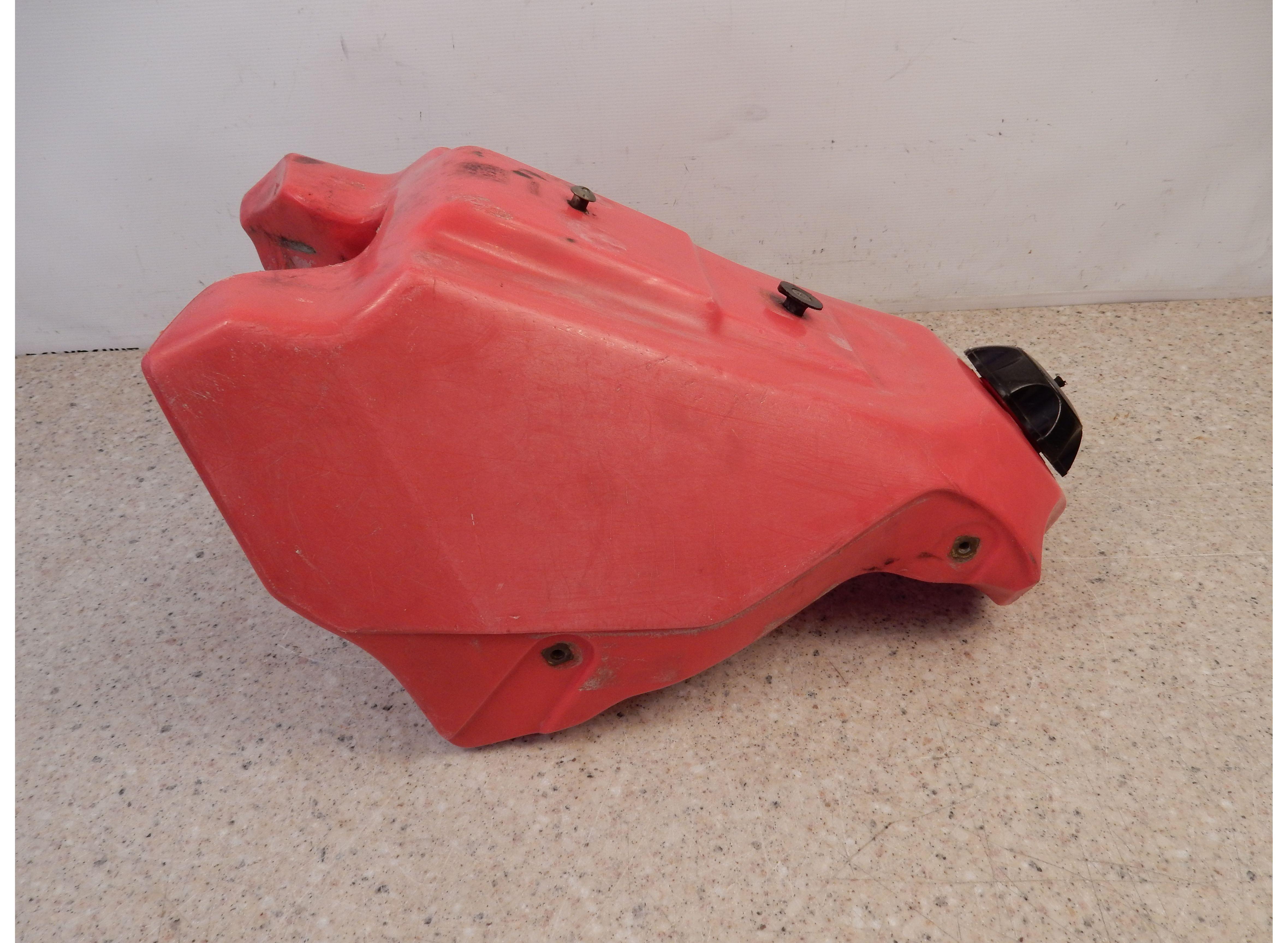 1989 Honda CR500 Gas Tank Red Fuel Tank Petcock Petrol OEM 89 CR500R ...