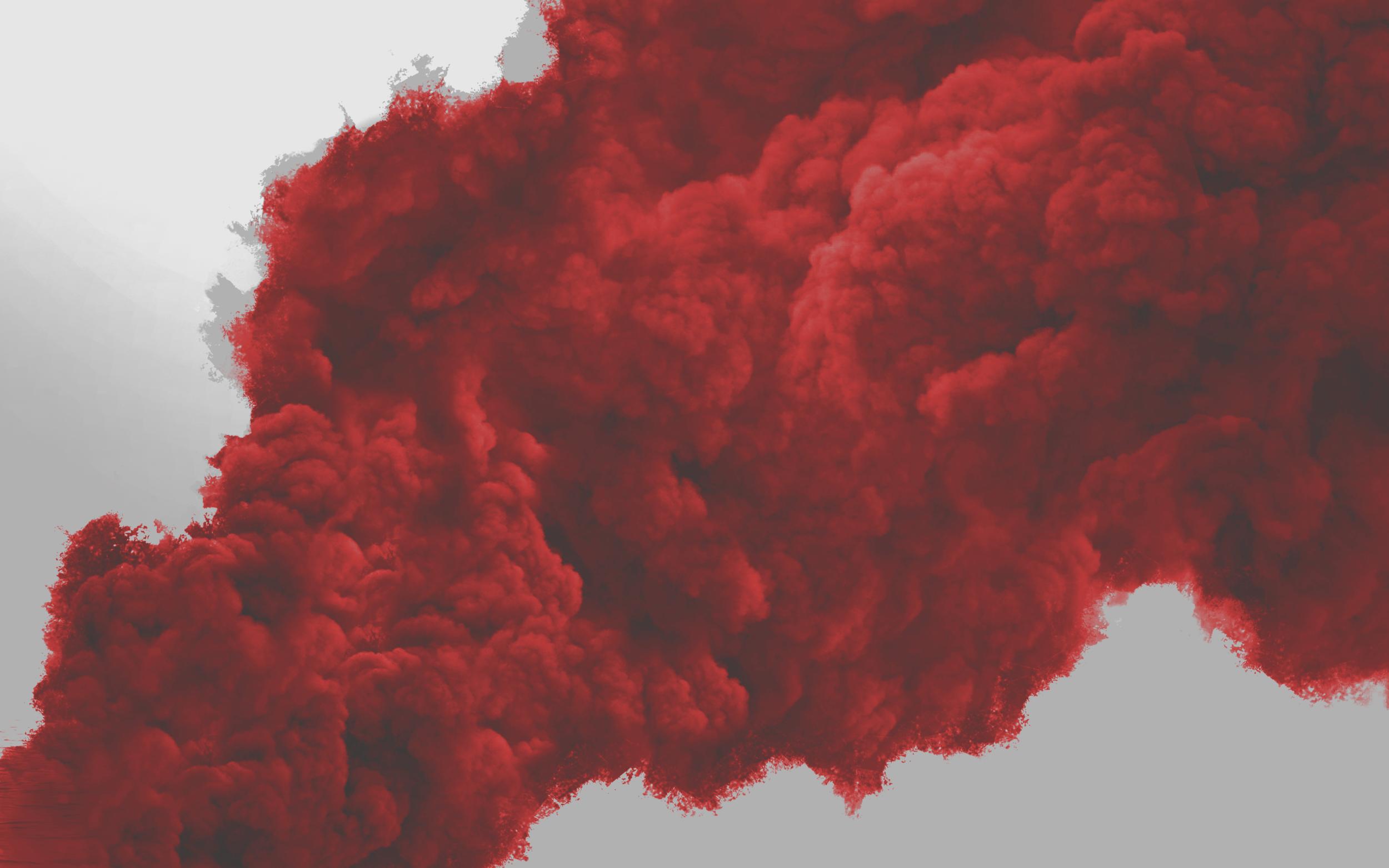 Top Five Red Smoke Png Image - Circus