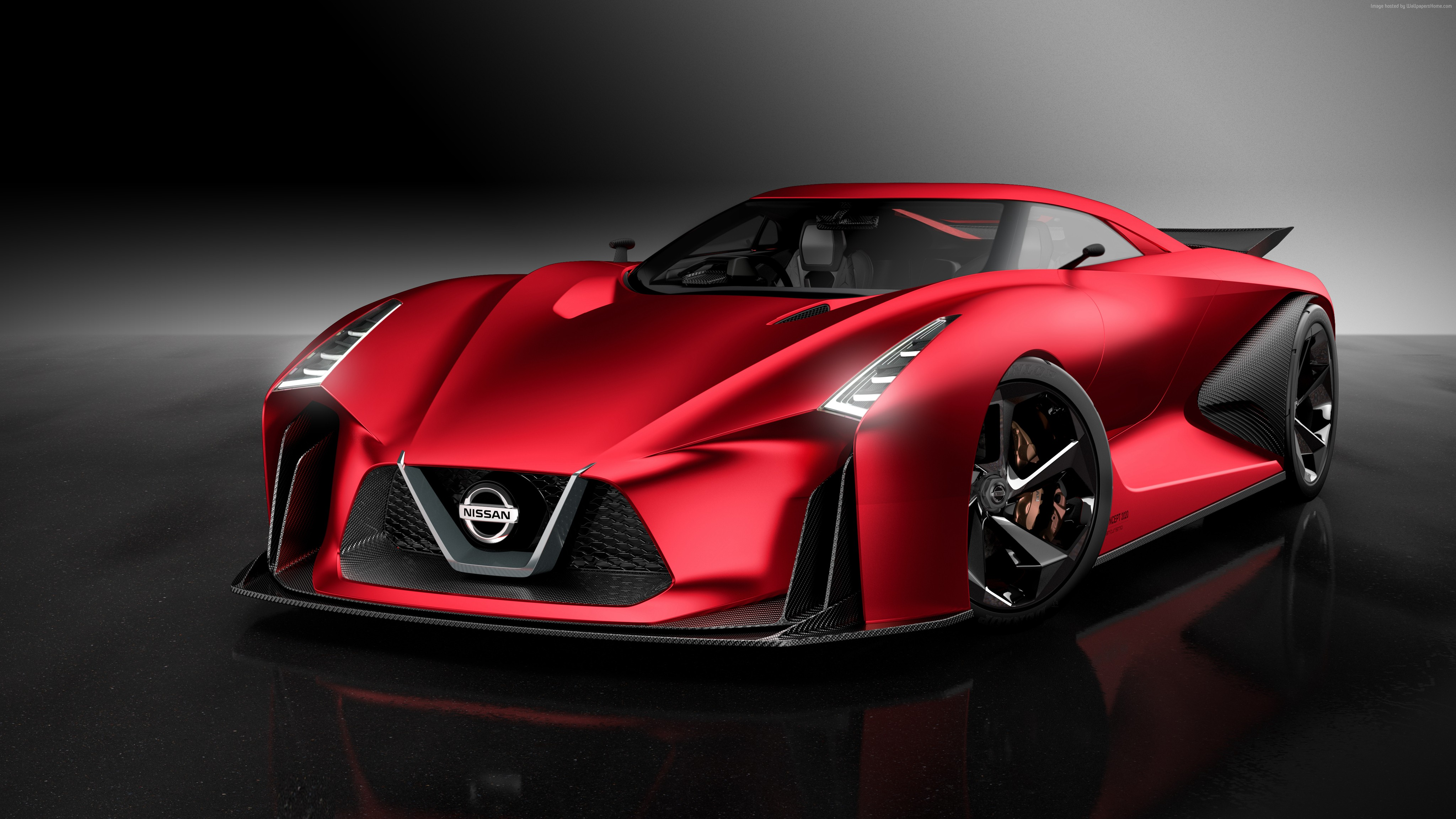 Wallpaper Nissan Vision Gran Turismo Red Concept Backgrounds Sport ...
