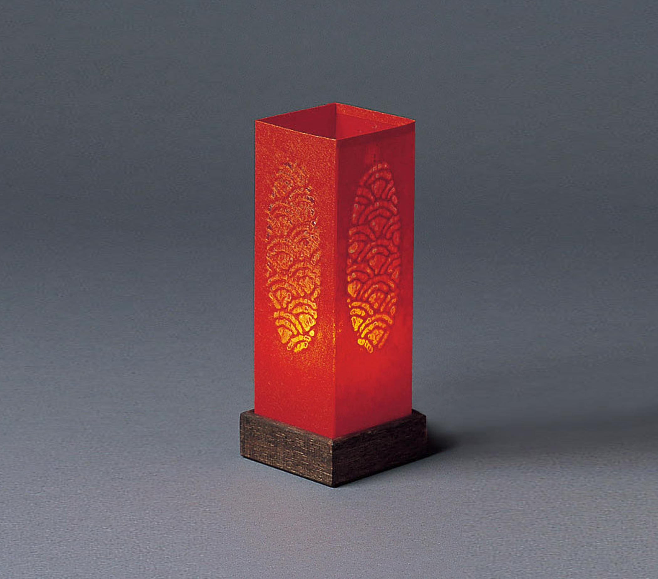 """Red """"Candle"""" Table Lamp « Unique Japan (uniquejapan.com)"""