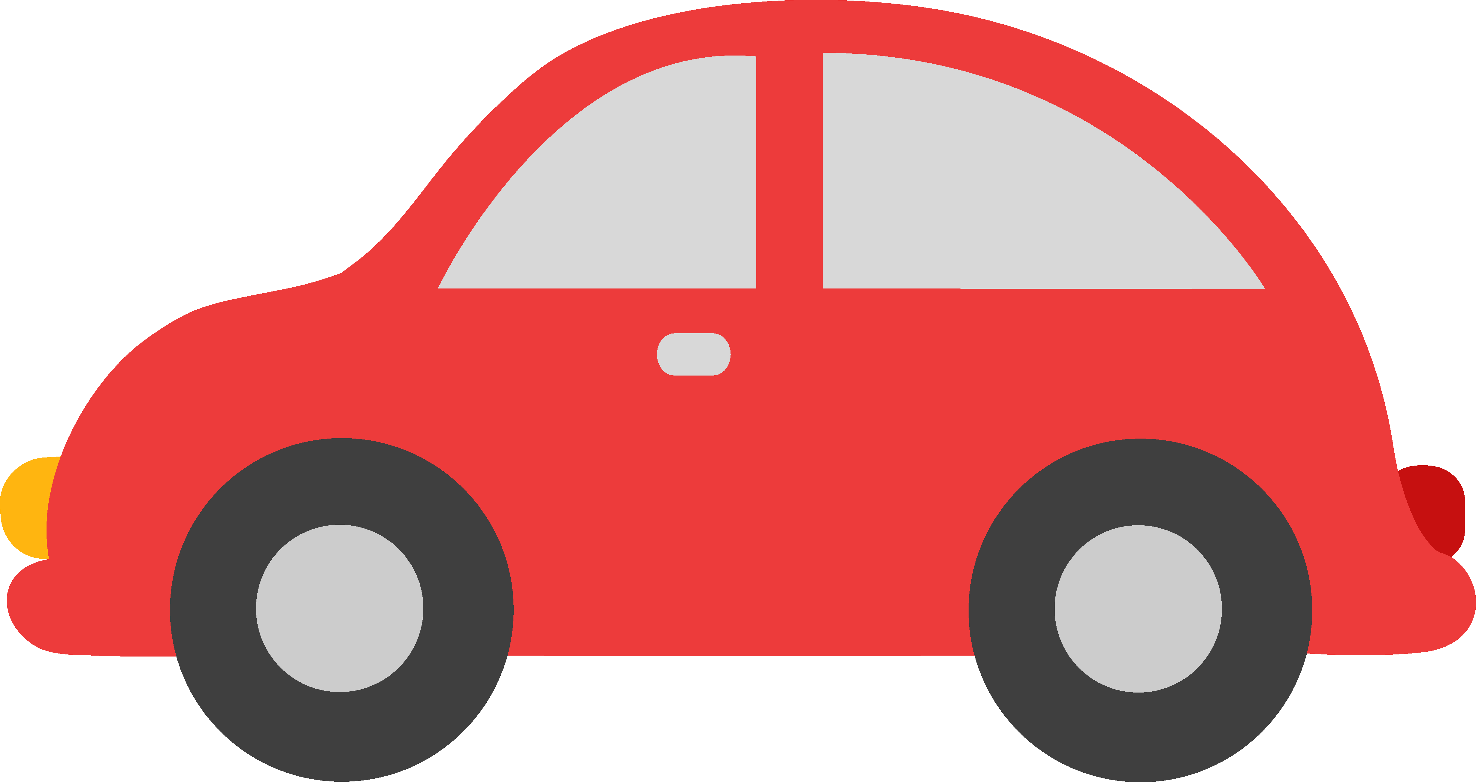 Red Toy Car Clipart - Free Clip Art