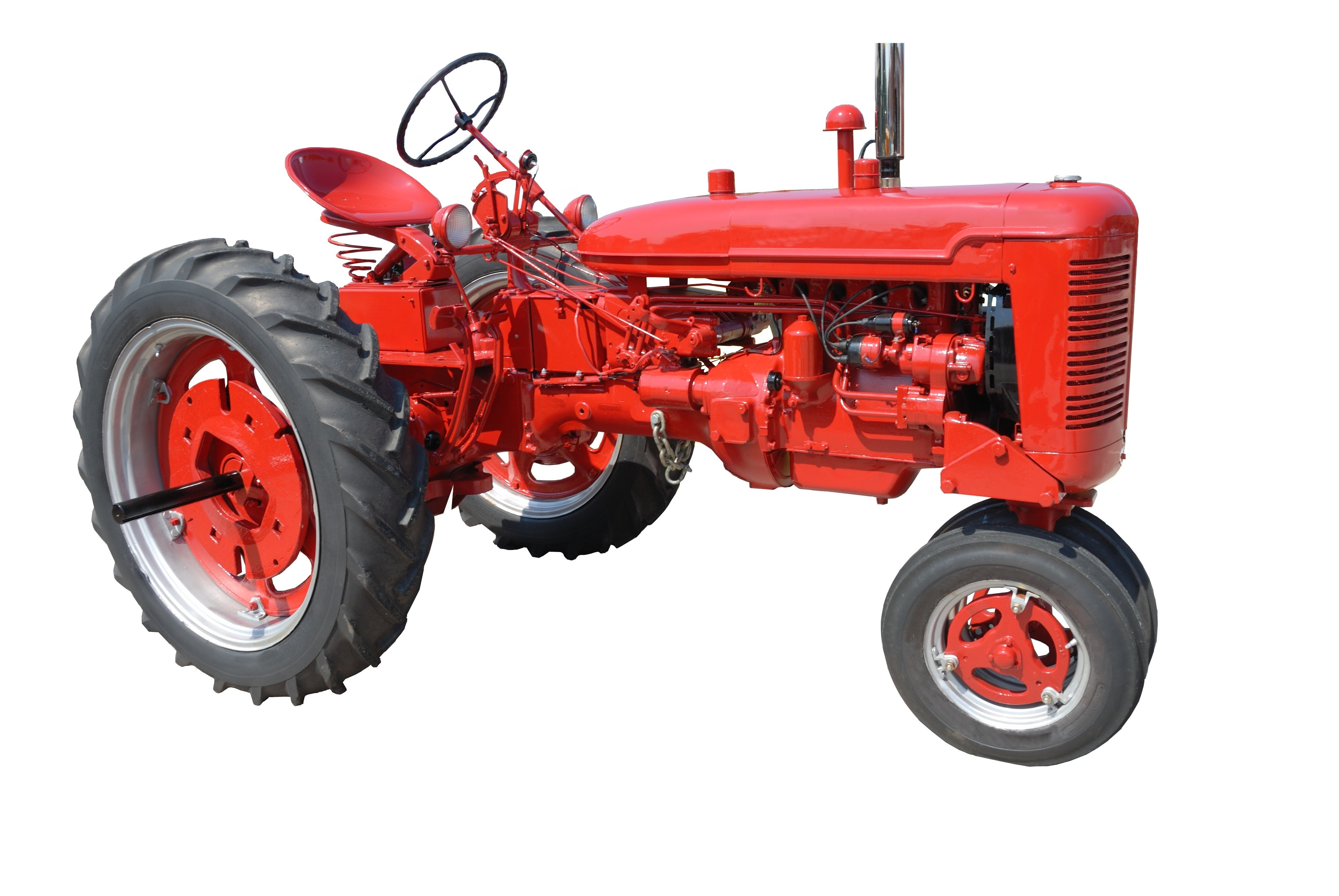 Red Tractor, Automobile, Automotive, Drive, Engine, HQ Photo