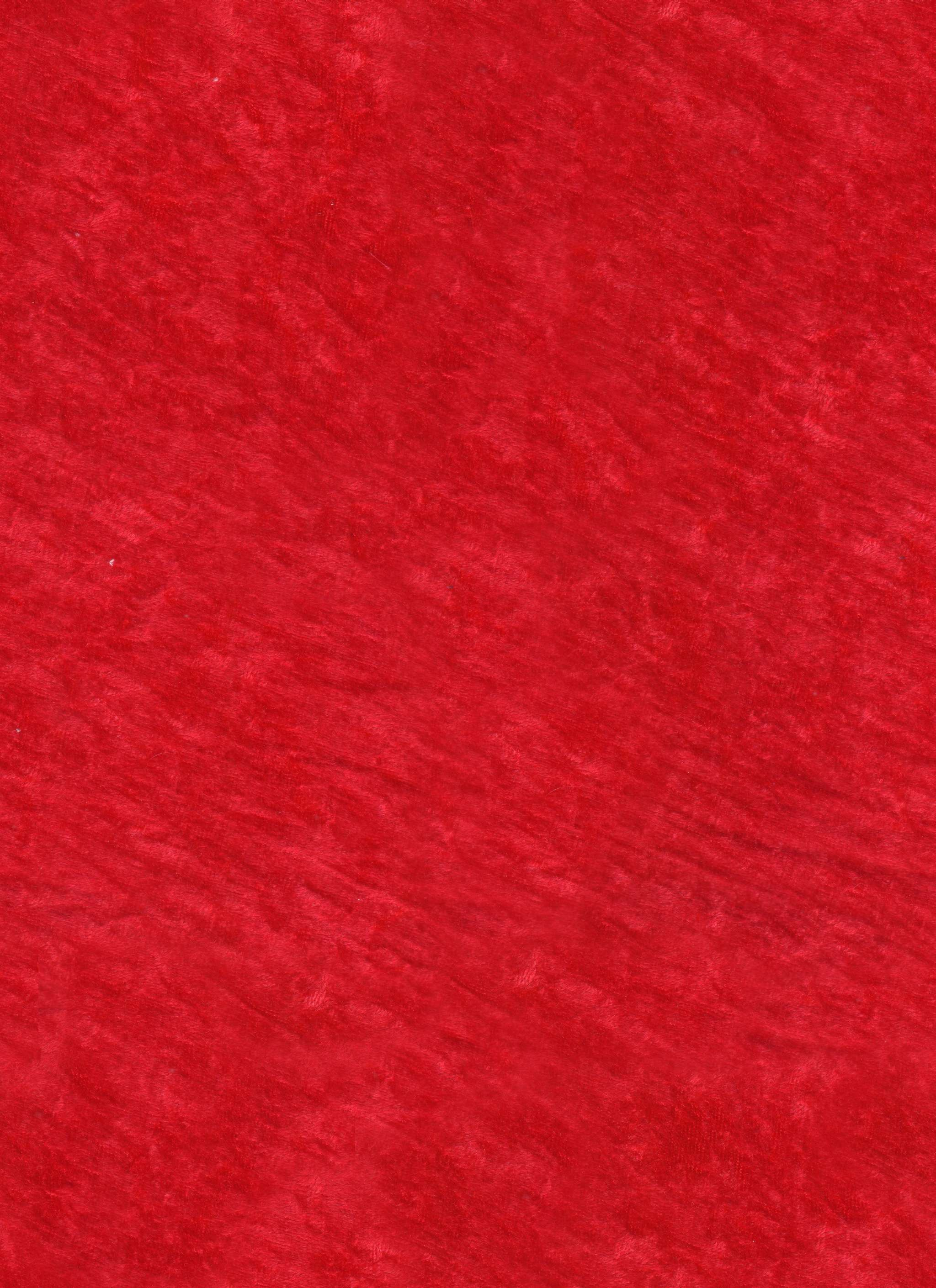 Fabric - Velvet - Red - Seamless Texture With Normalmap ...