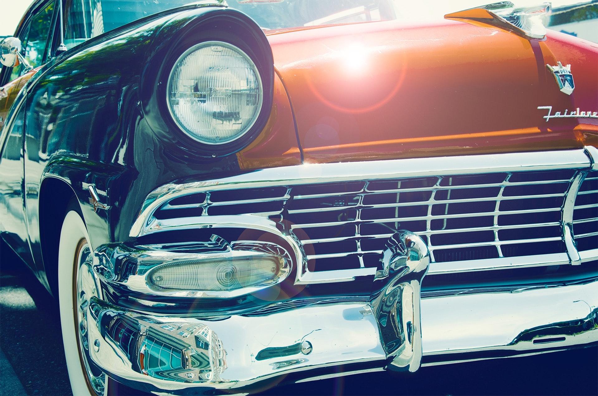 Red Vintage Car, Automobile, Automotive, Car, Classic, HQ Photo