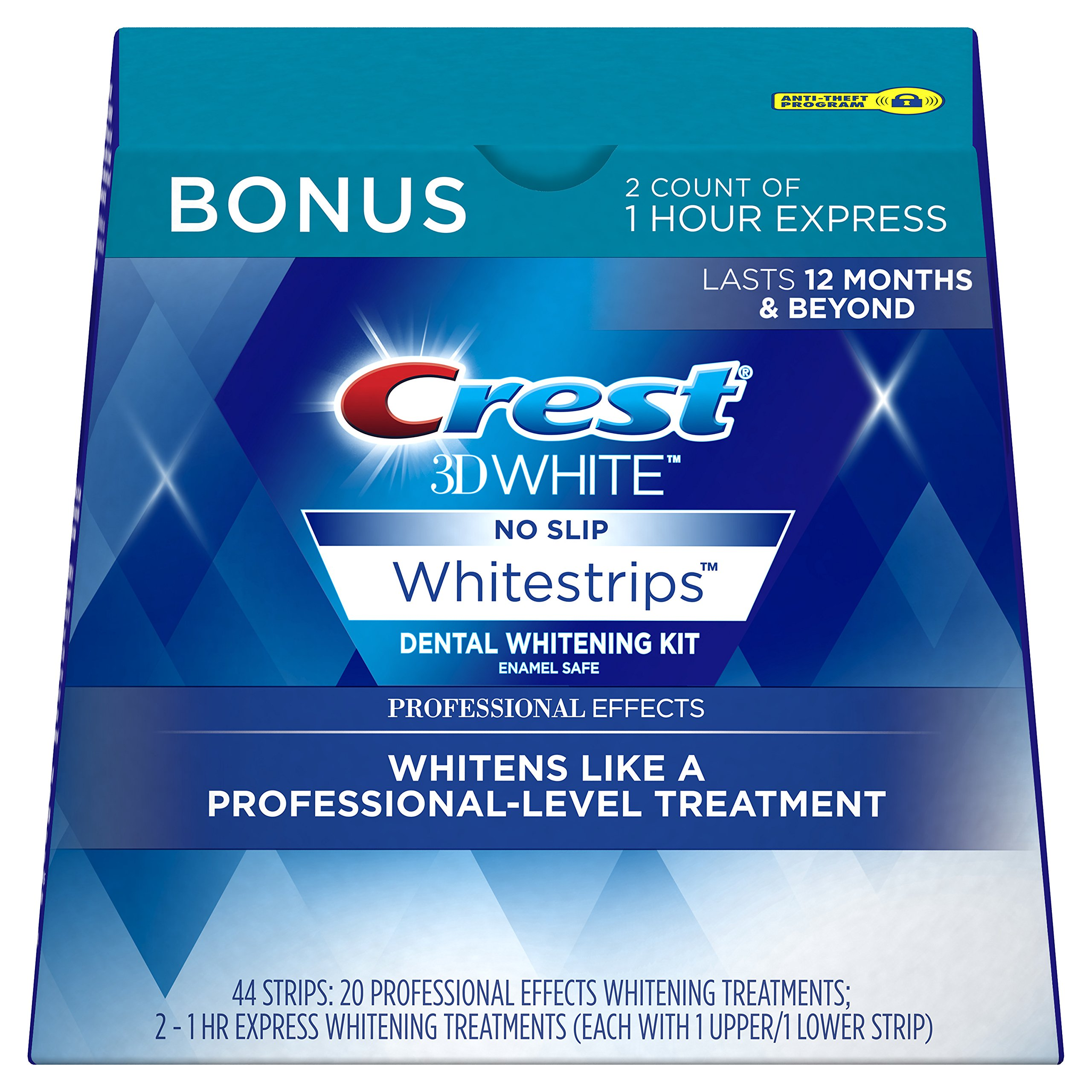 Amazon.com: Crest 3D White Professional Effects Whitestrips Teeth ...