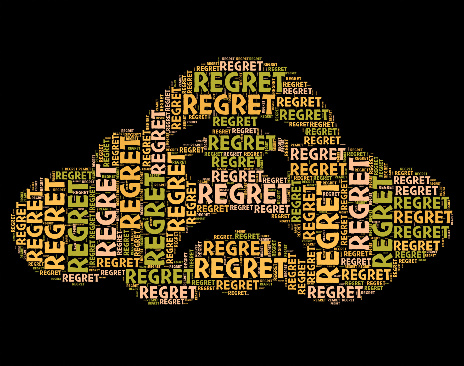 Regret Word Means Apologetic Rue And Wordclouds, About, Apologetic, At, Feel, HQ Photo