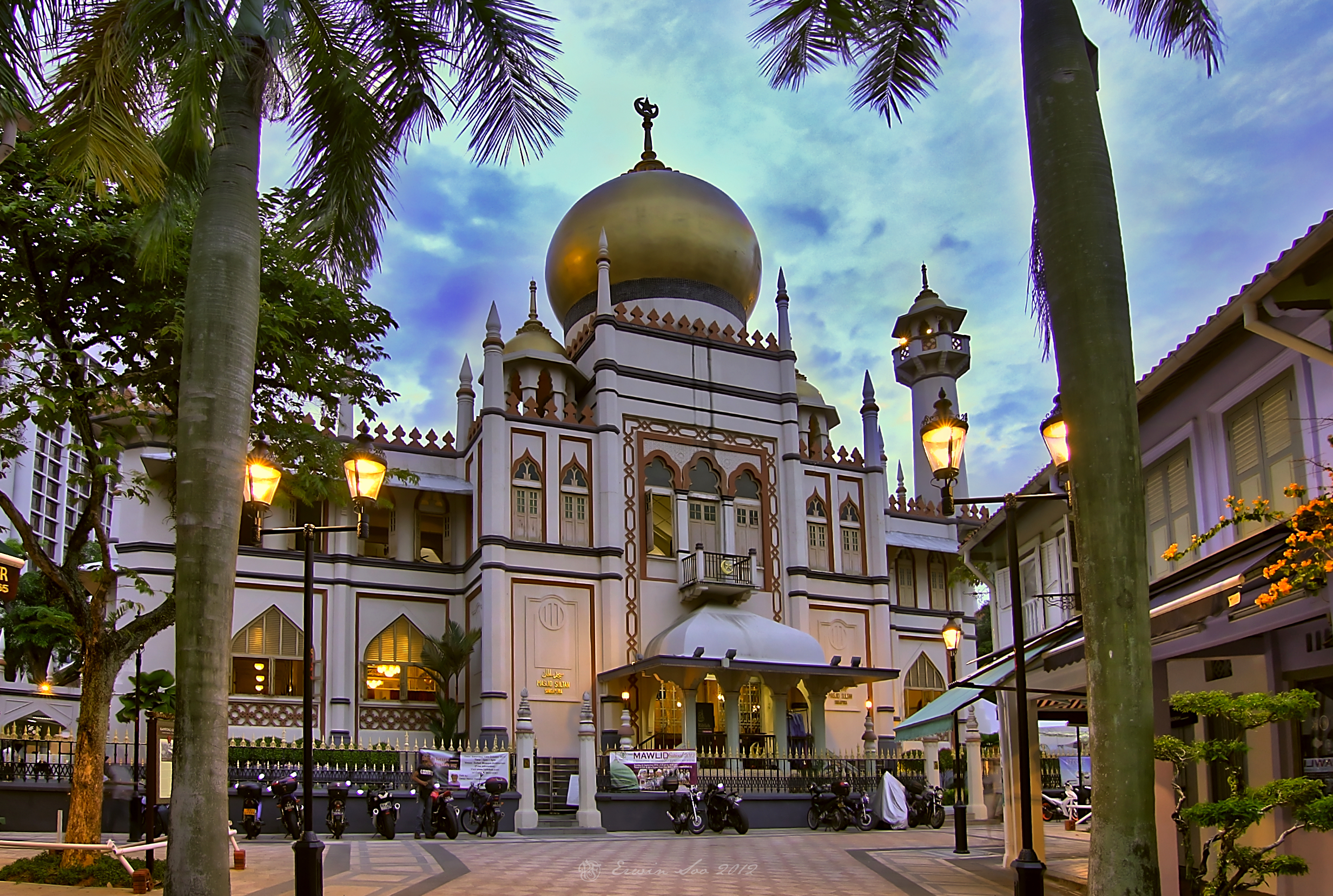 Sultan mosque photo