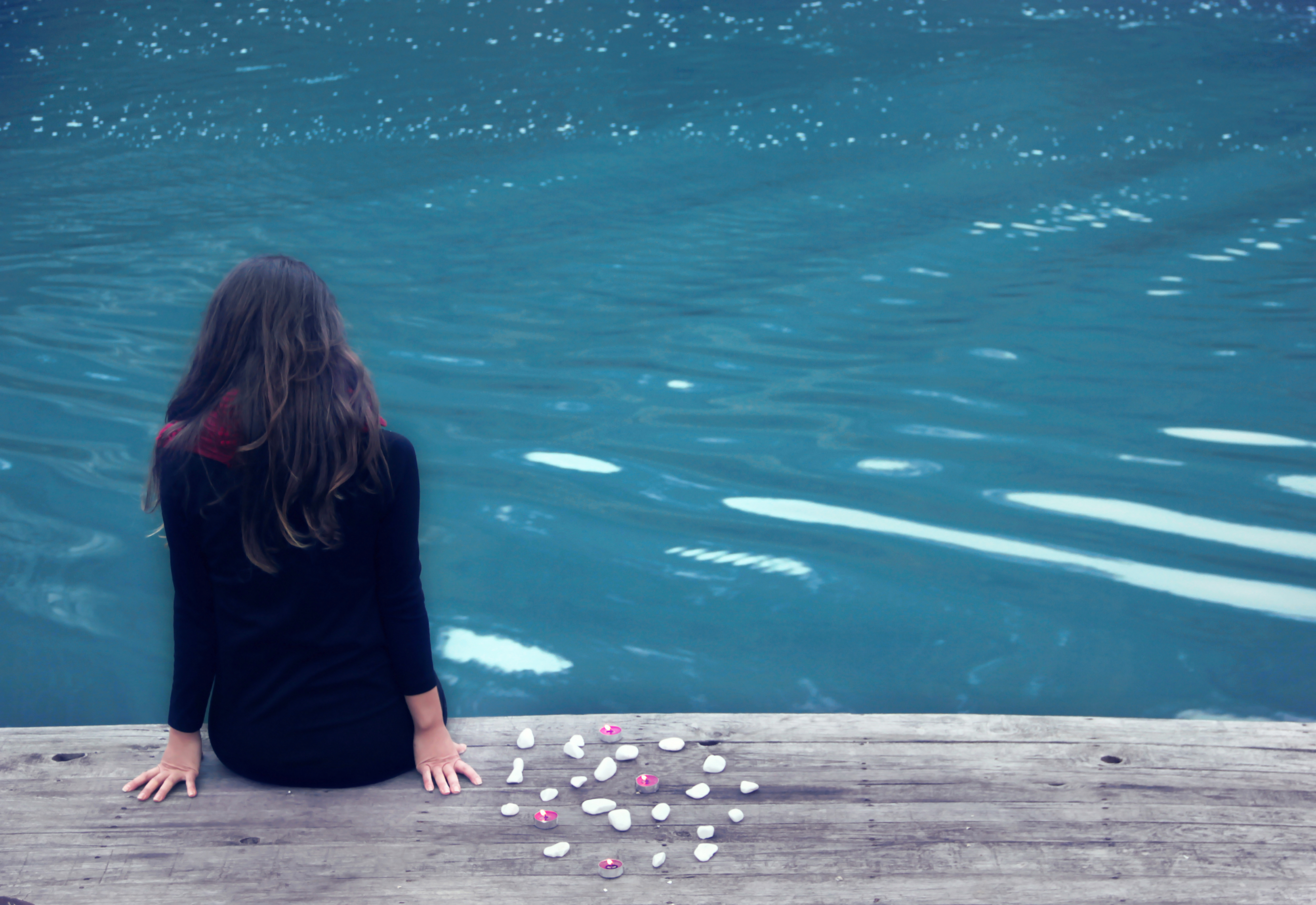 Relaxation, Silence, Person, Photographing, Pier, HQ Photo