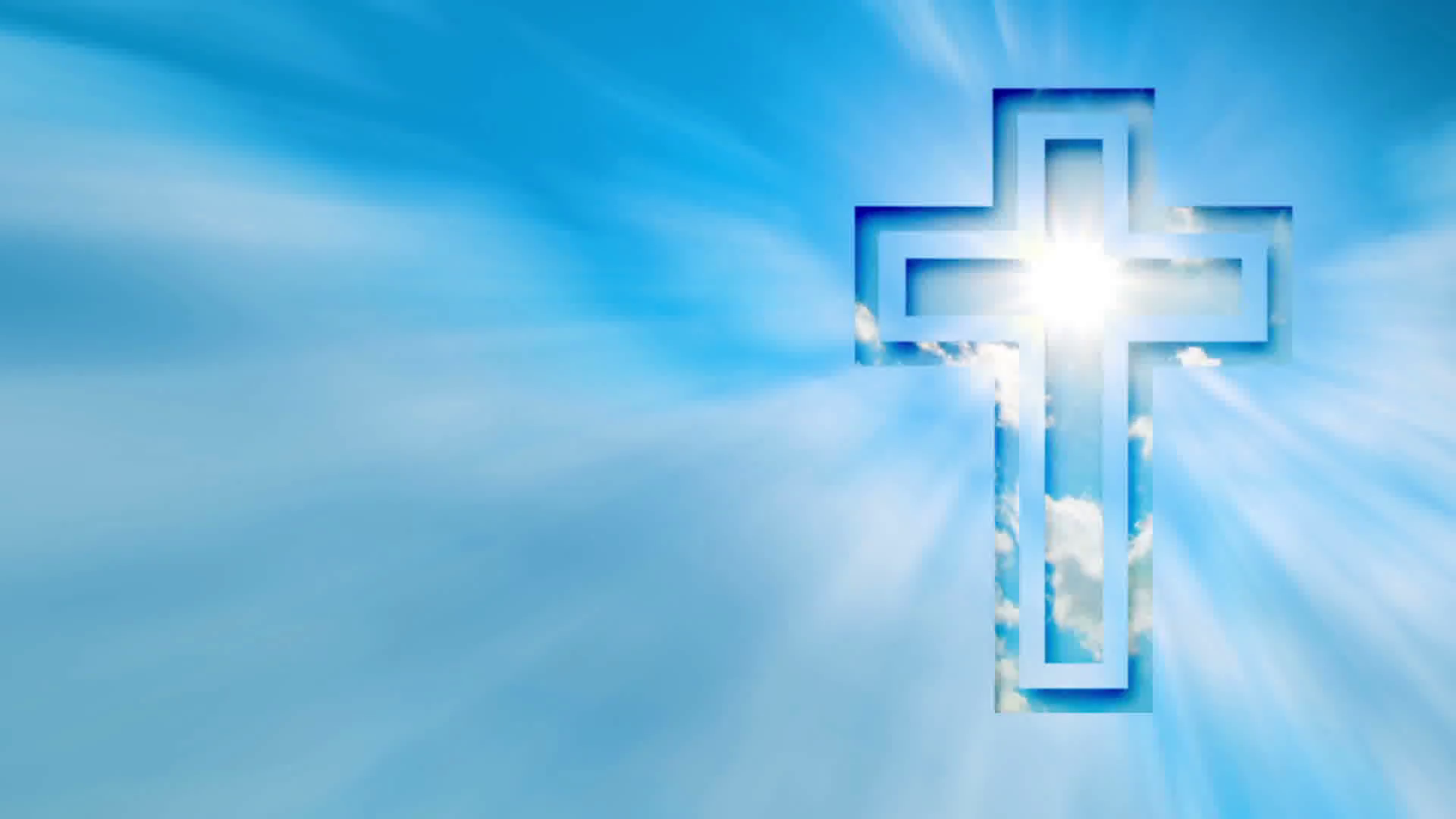 Religious cross, background Motion Background - Videoblocks