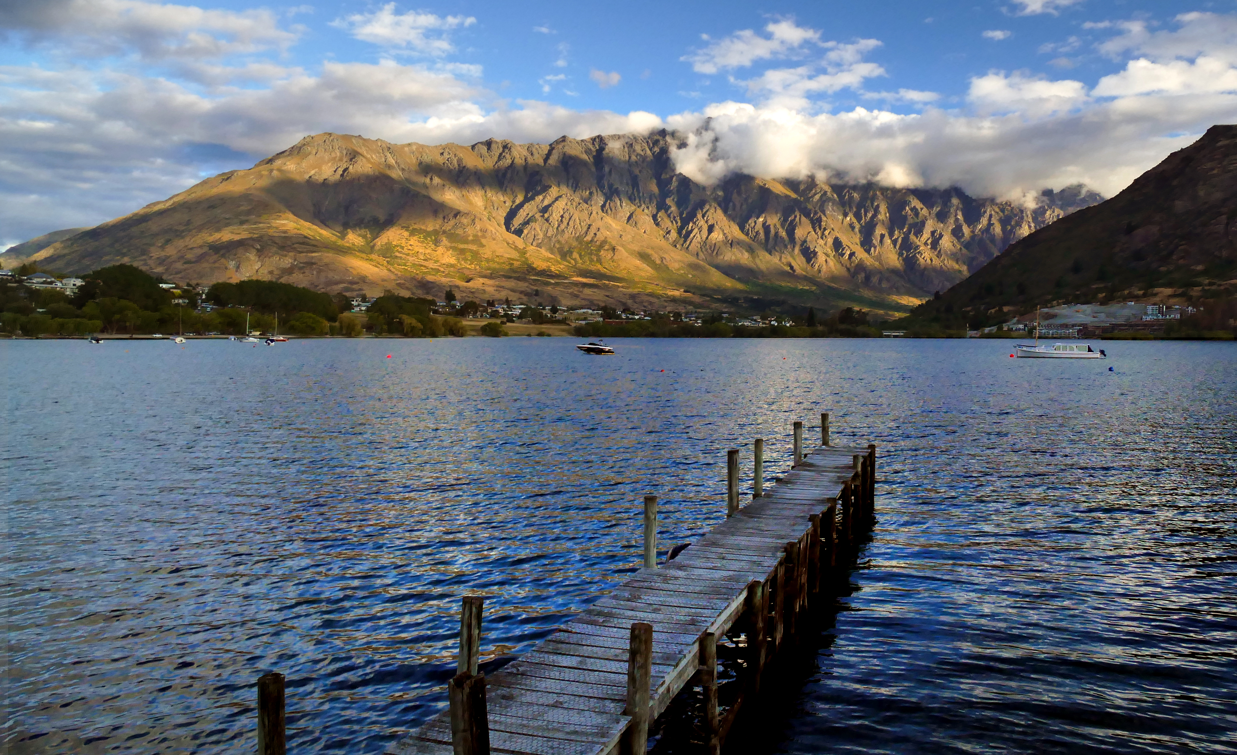 Remarkable mountains queenstown nz photo
