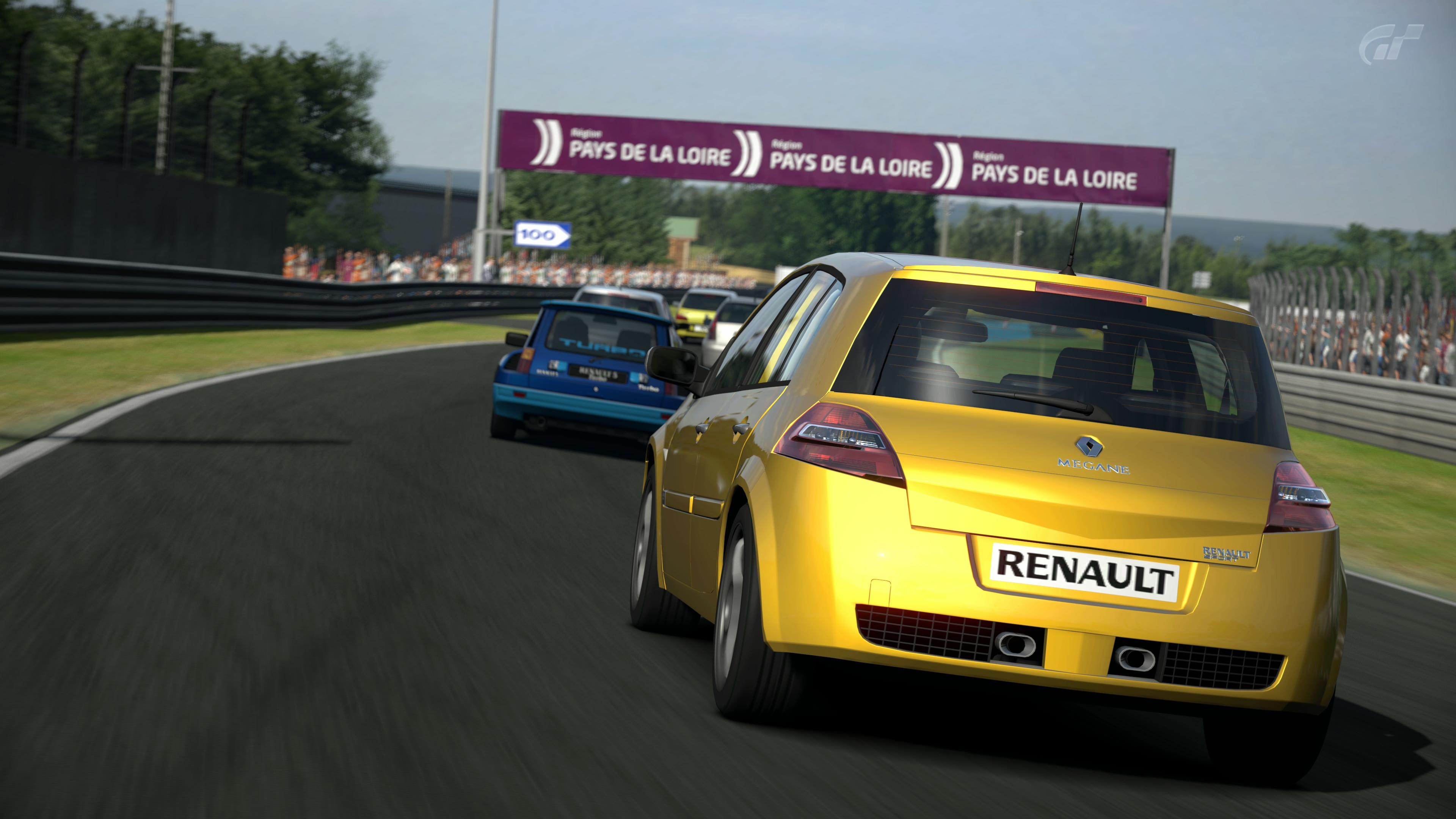 Renault sport megane photo