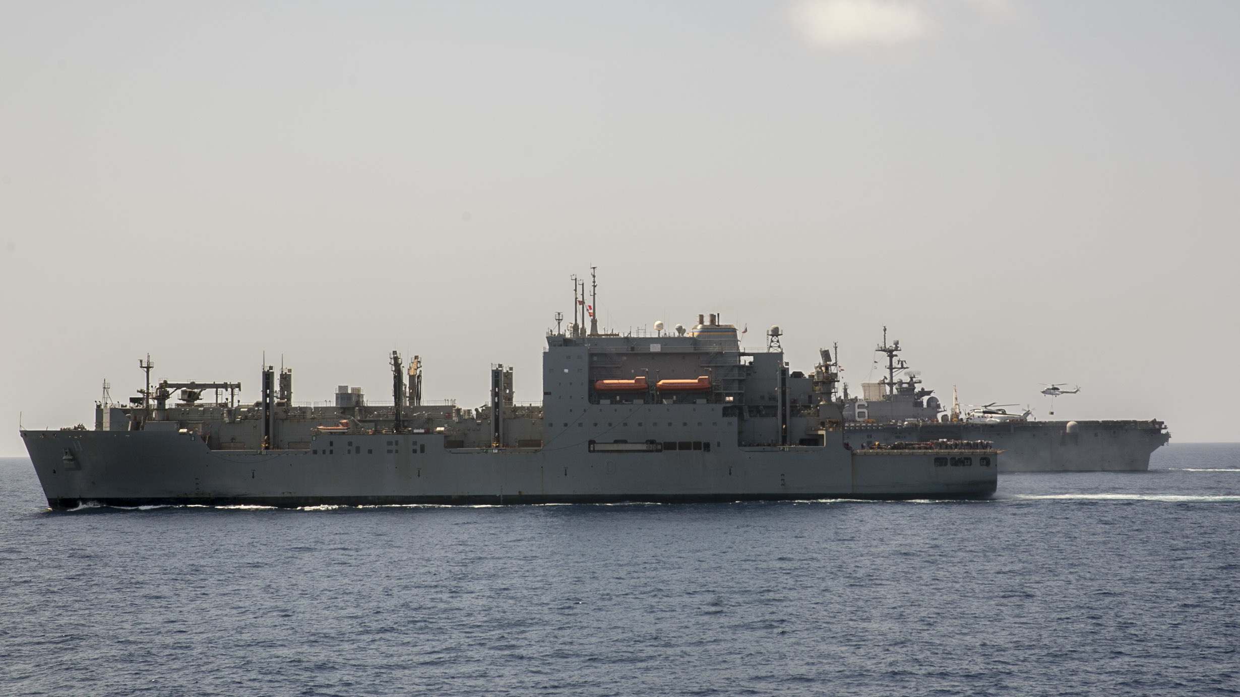 Replenishment at Sea, Navy, Ship, States, United, HQ Photo