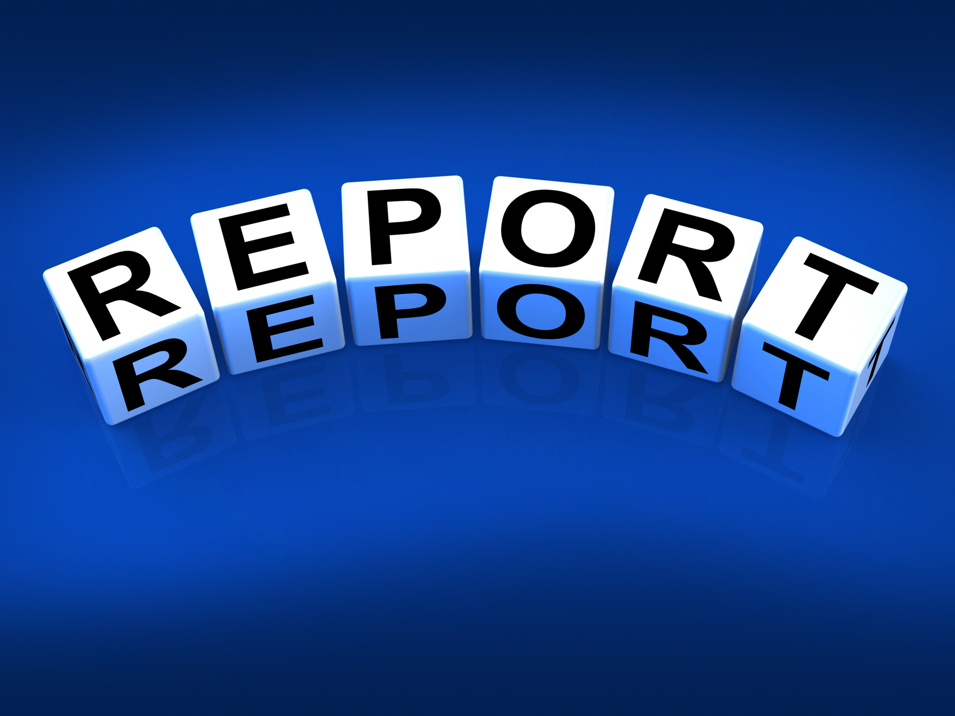 Report blocks represent reported information or articles photo