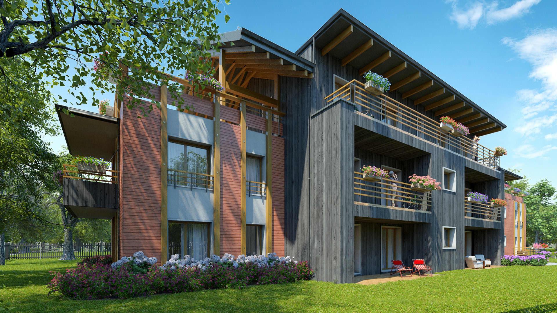 Riverstone Residence, 1st house | YIT.LV