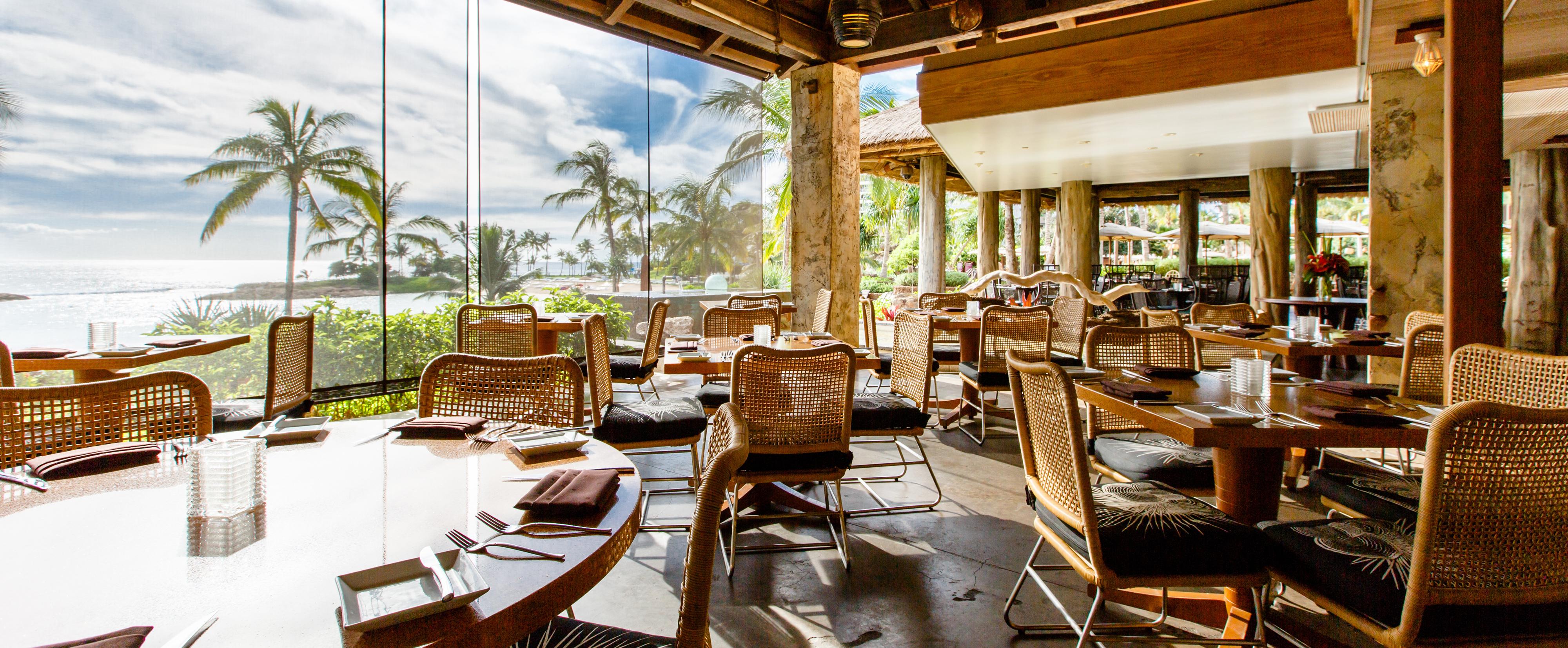 AMAAMA Hawaiian Cuisine Restaurant | Aulani Hawaii Resort & Spa