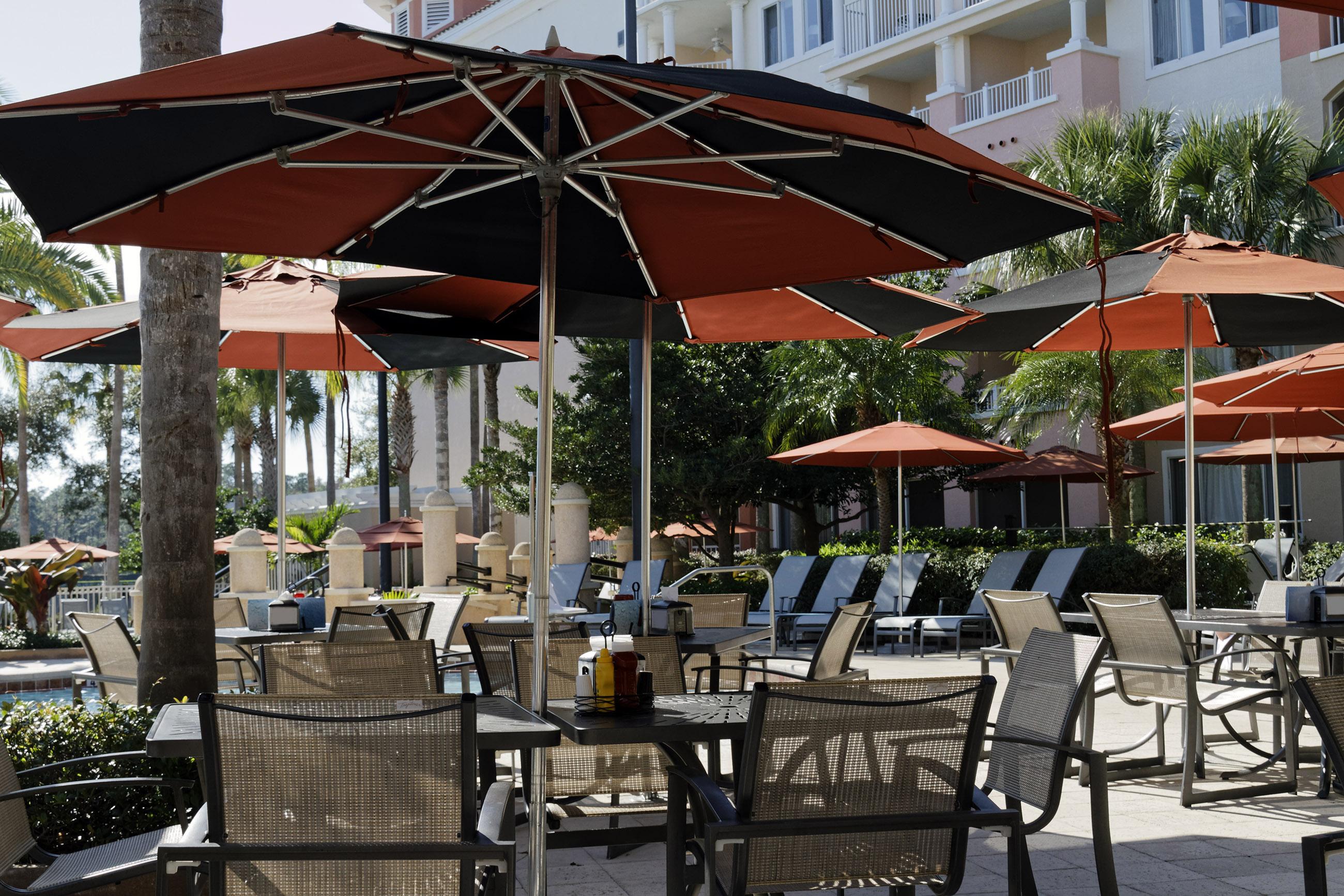 Resort Restaurant, Blue, Sunshine, Resort, Restaurant, HQ Photo