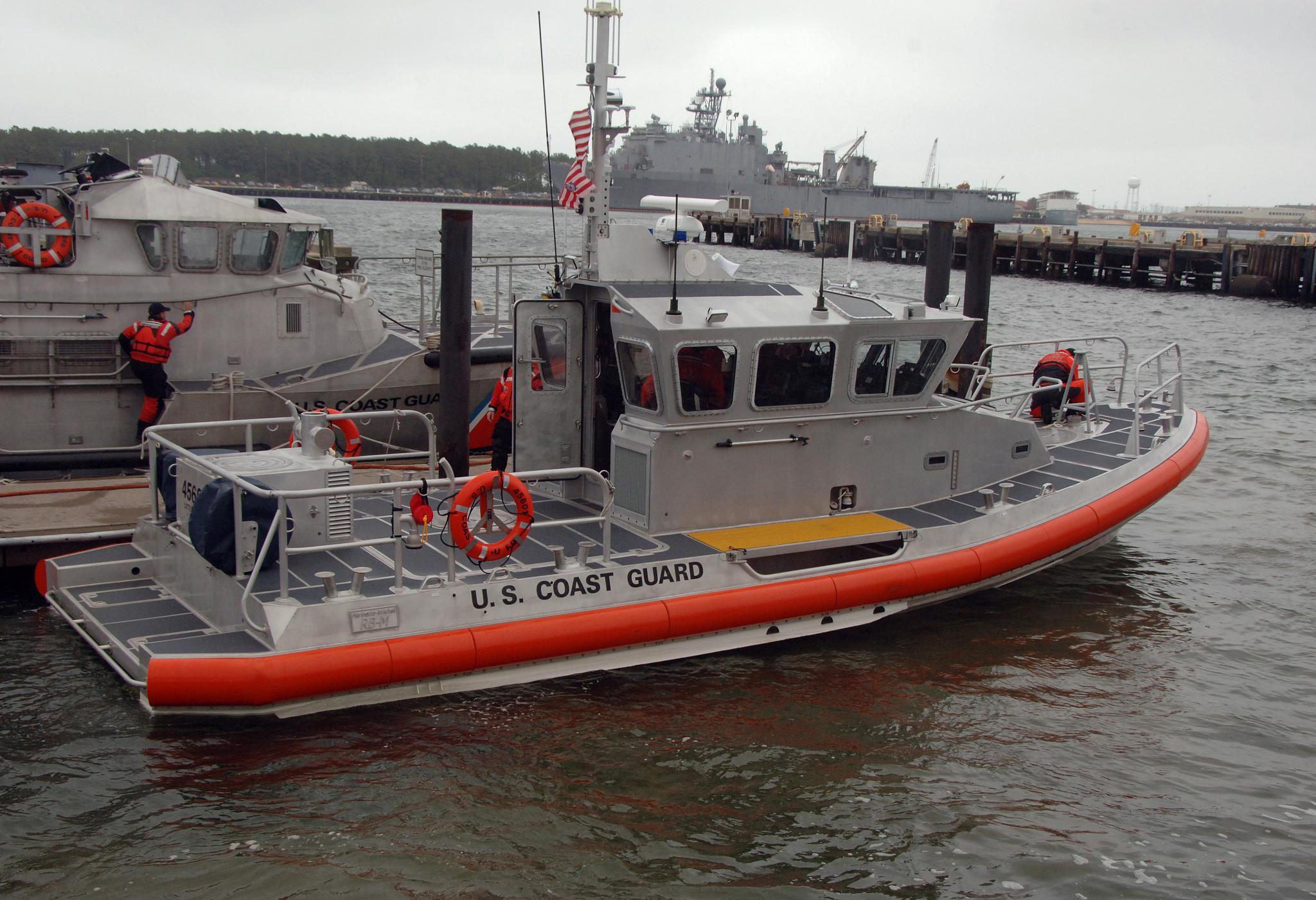 Response boat photo