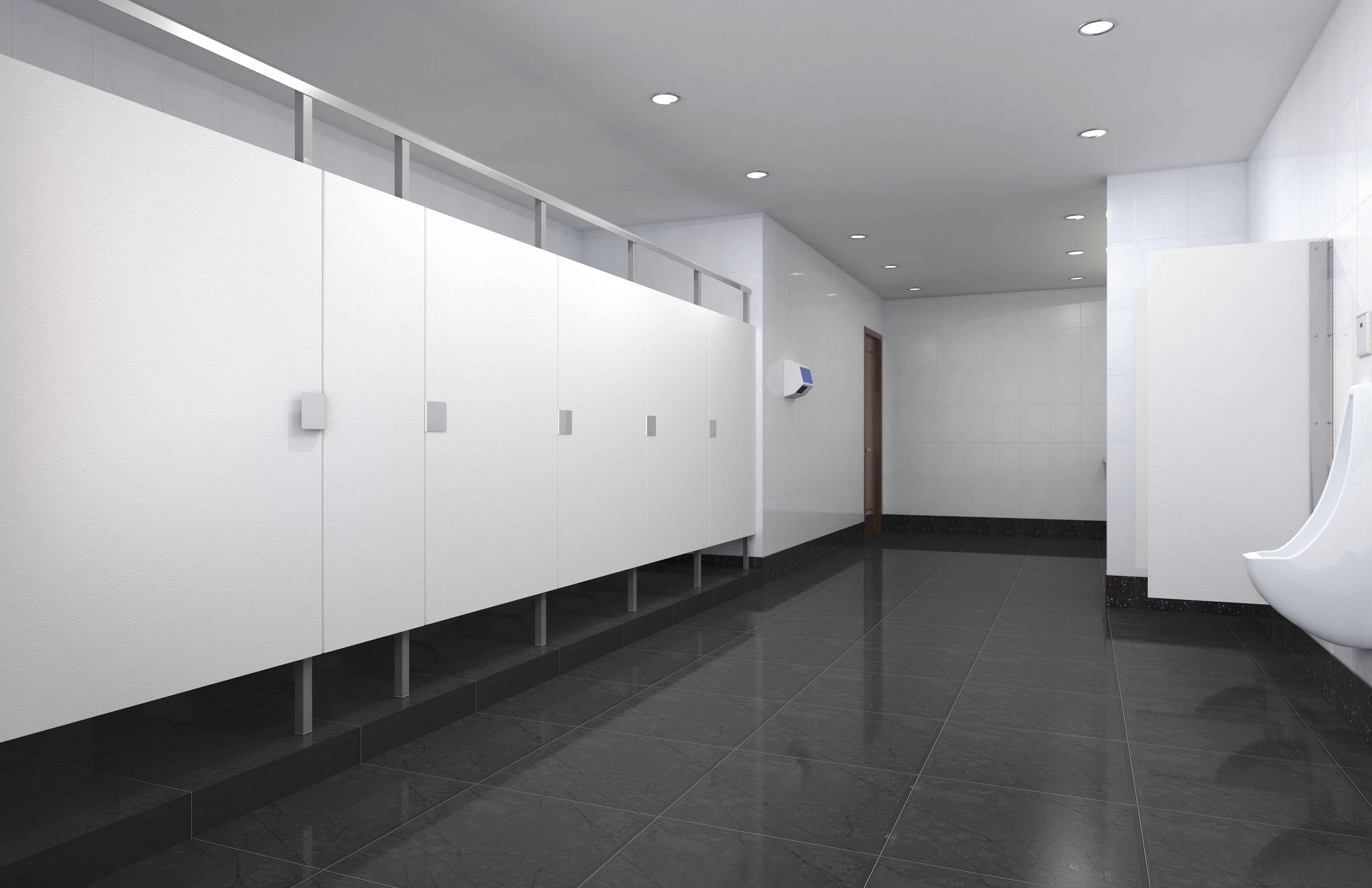 Commercial Bathroom Design & Trends | Modern Public Restroom Ideas