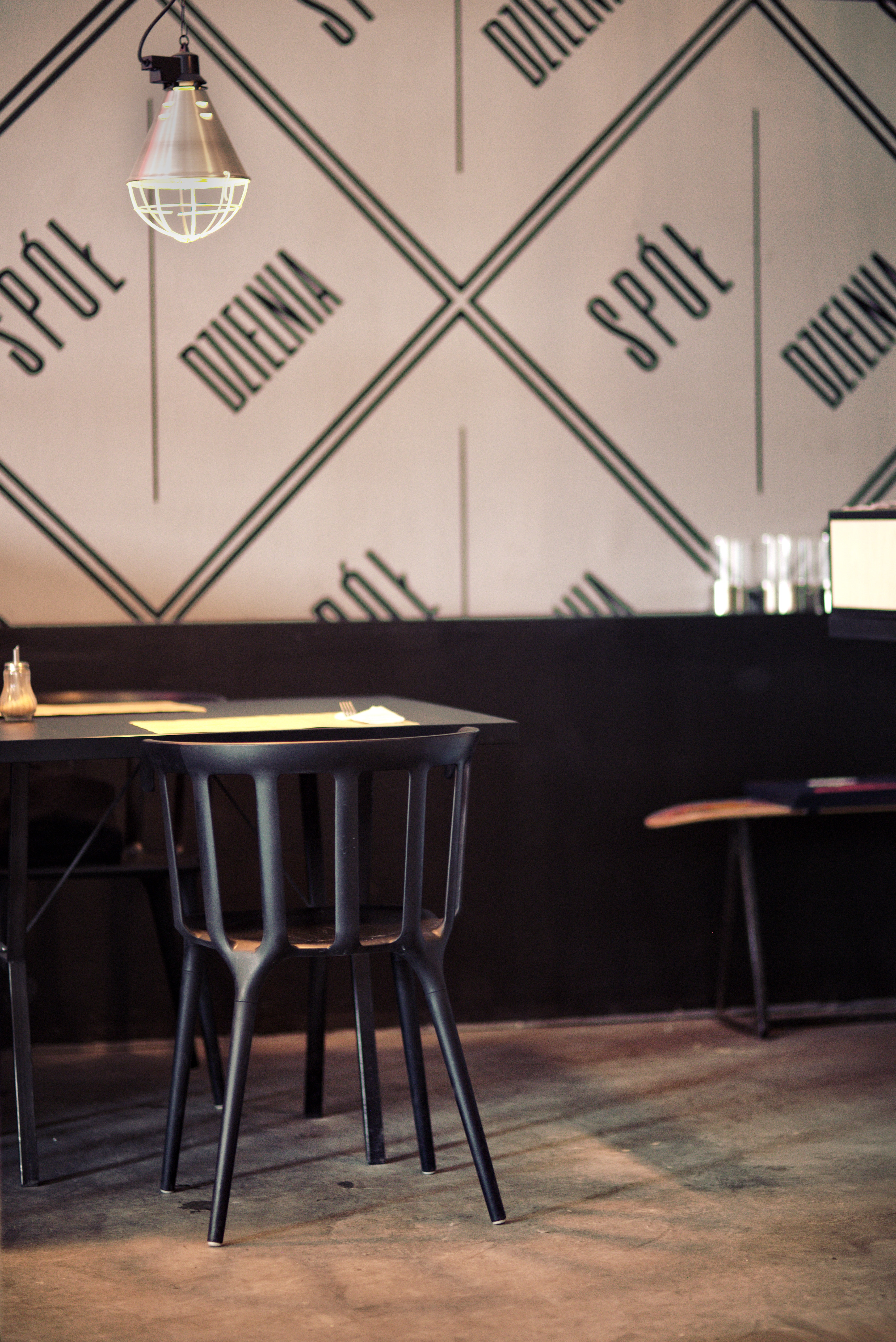 Restaurant: chair & table photo