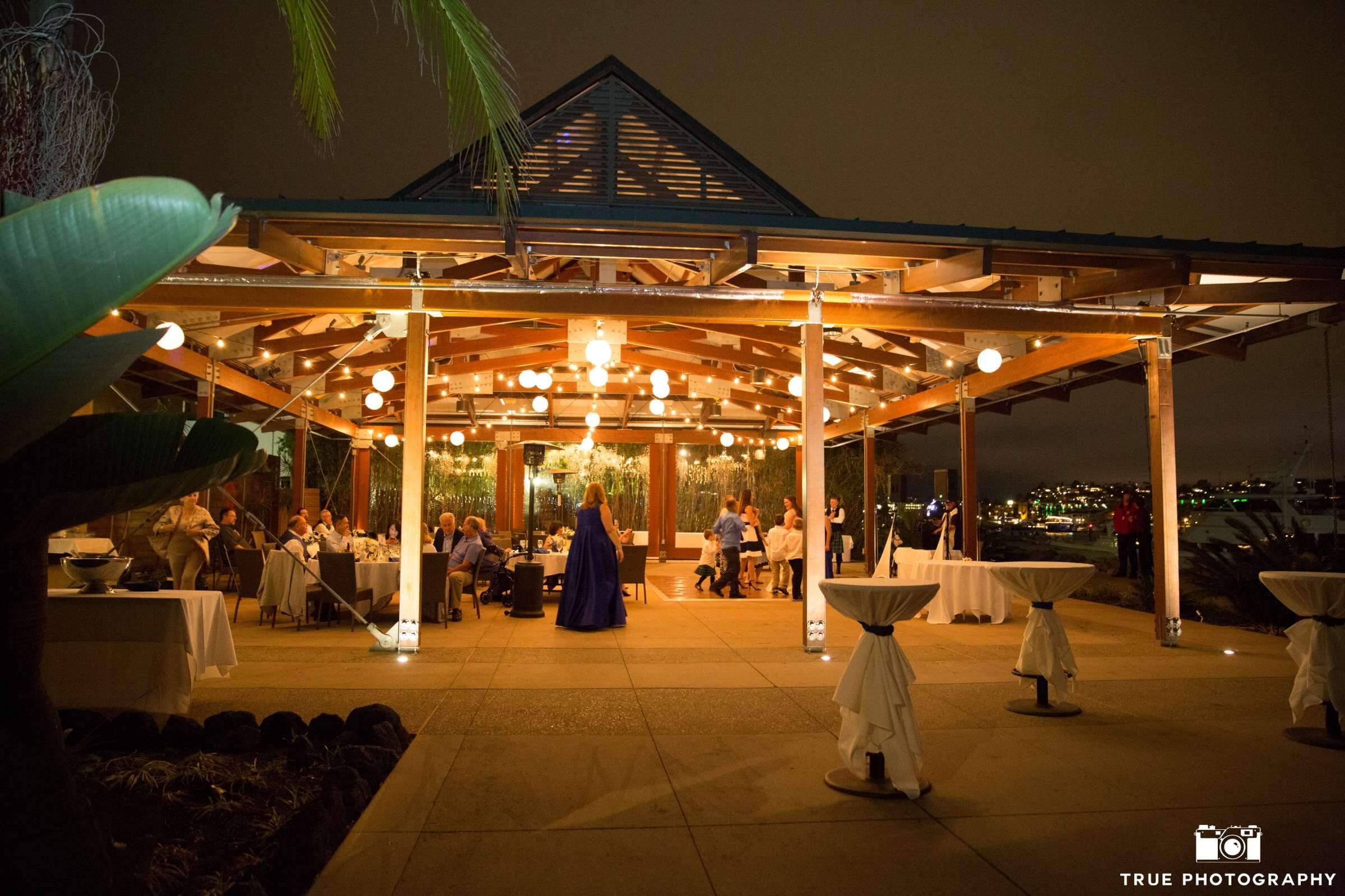 Market Lights at Bali Hai Restaurant Wedding San Diego