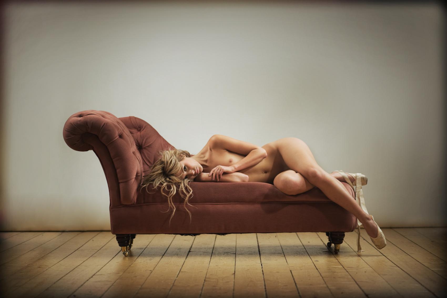 Resting Ballerina 3 - Art Pistol