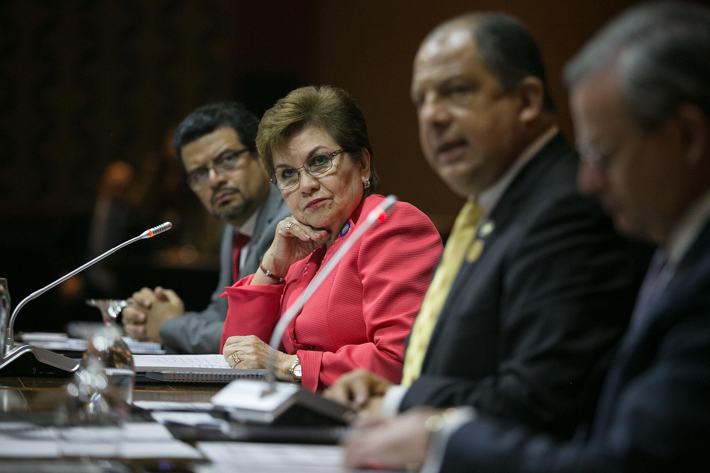 Reunión de jefes de estado y de gobierno del sica -san josé-costa rica photo