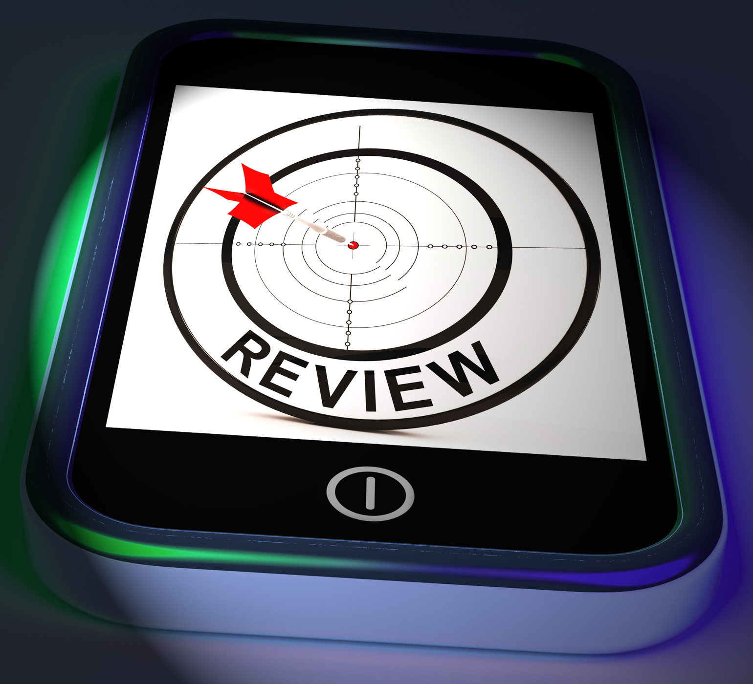 Review smartphone displays feedback evaluation and assessment photo