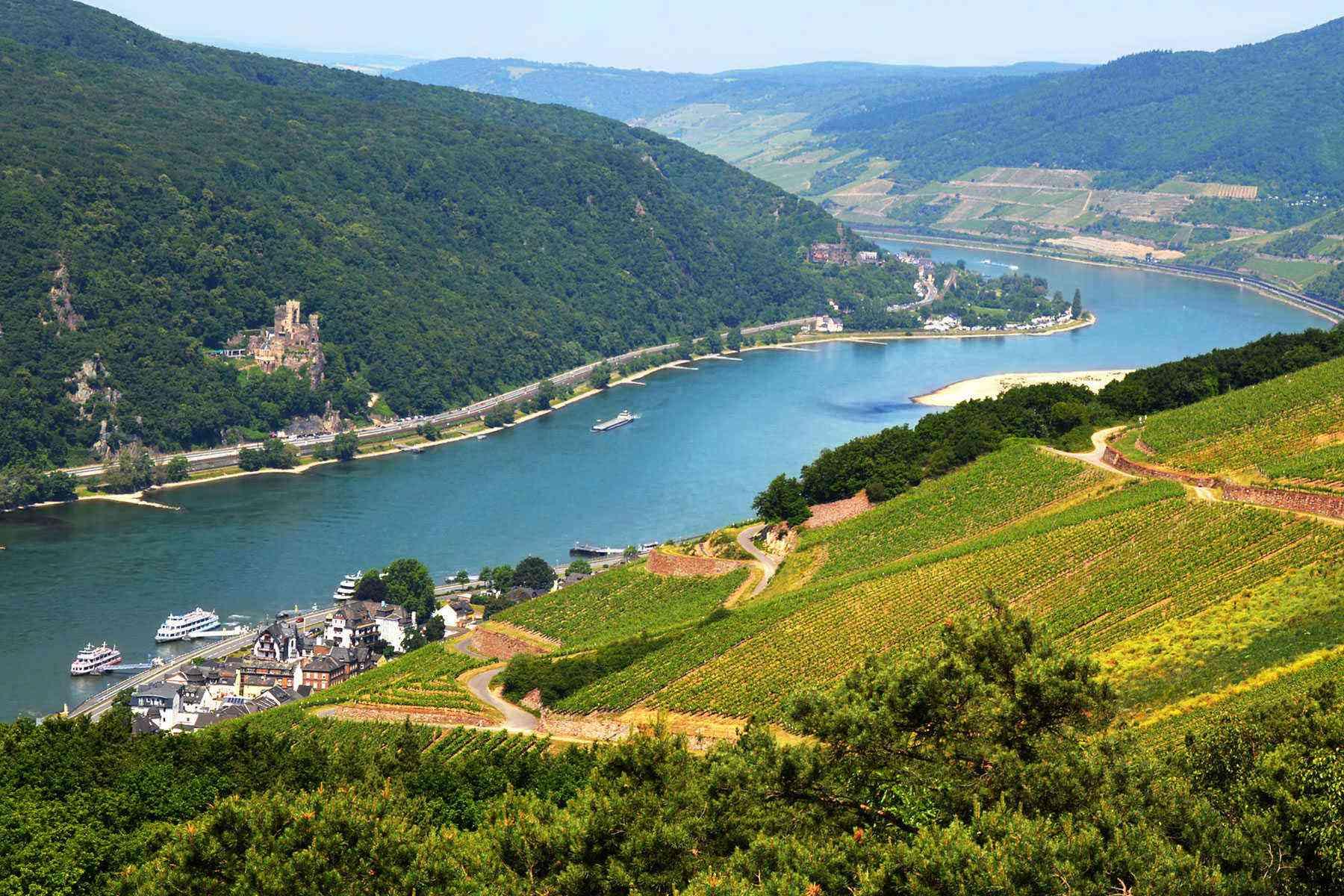 Rhine river photo