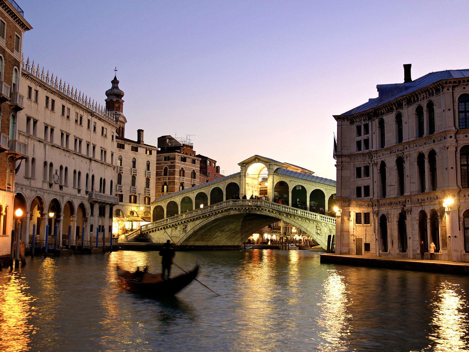 Rialto Bridge (Venice, Italy) / 1600 x 1200 / Locality / Photography ...