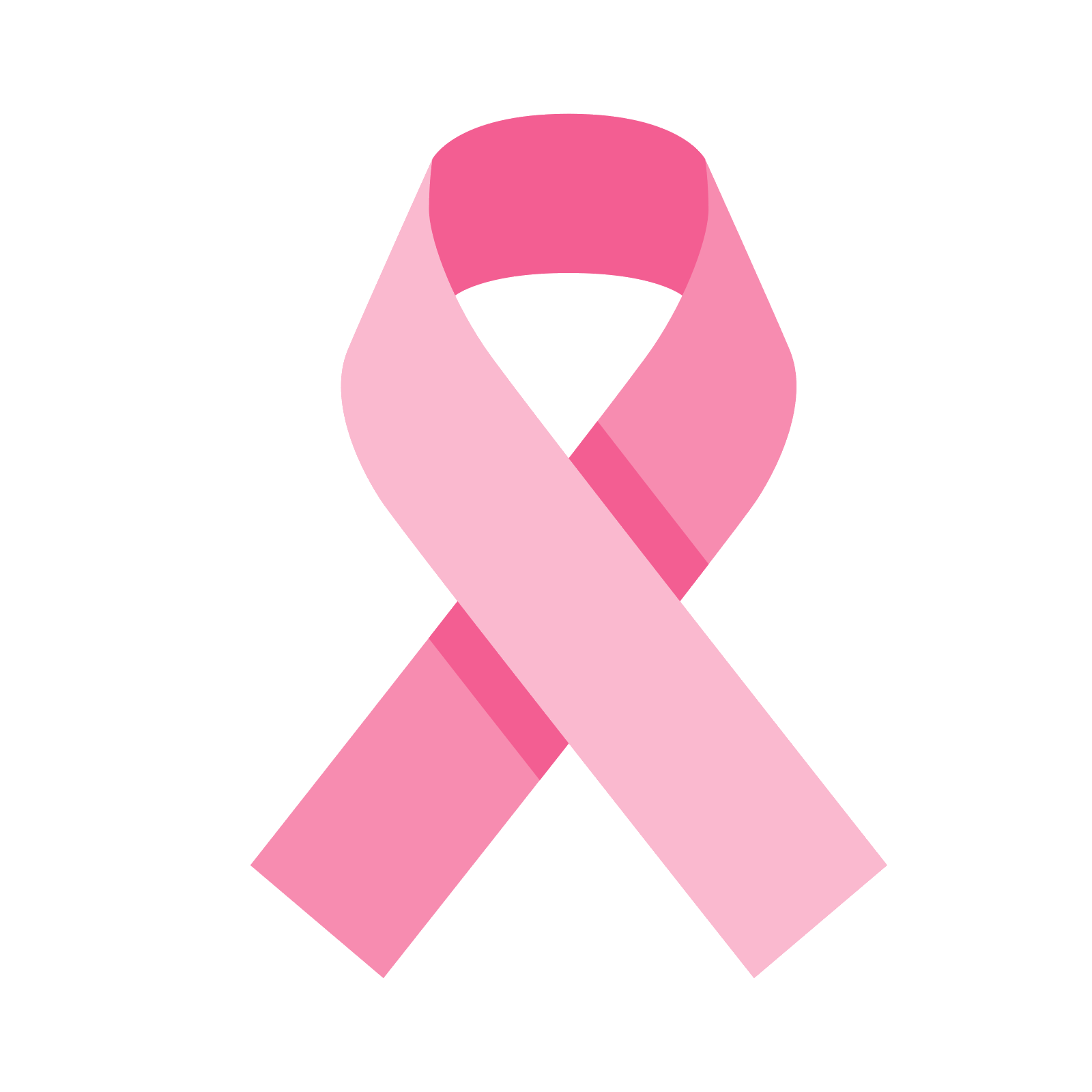 Pink Ribbon Icon - free download, PNG and vector