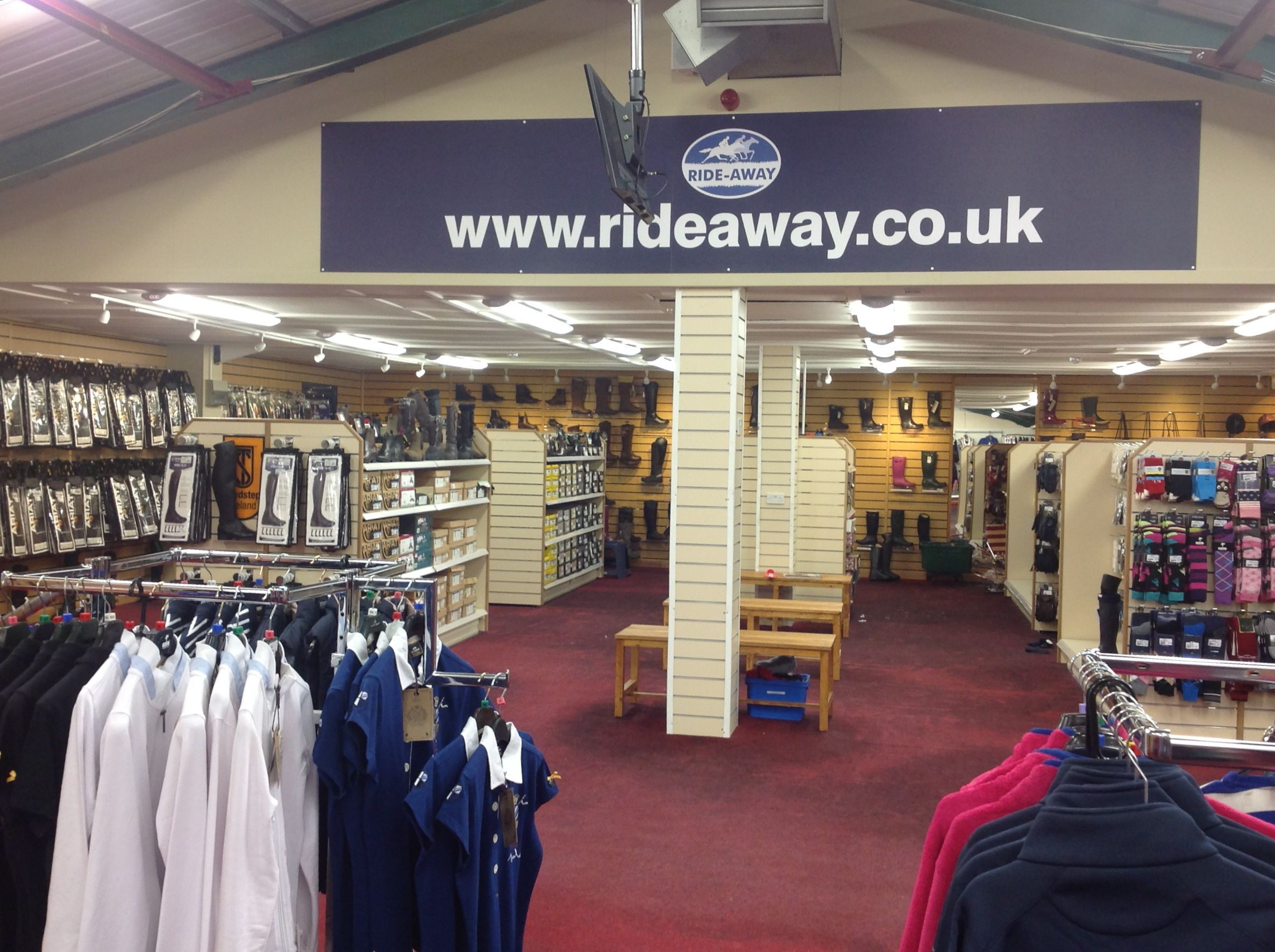 Ride-Away has a refurb! - Equestrian Life Magazine UK - Horse ...