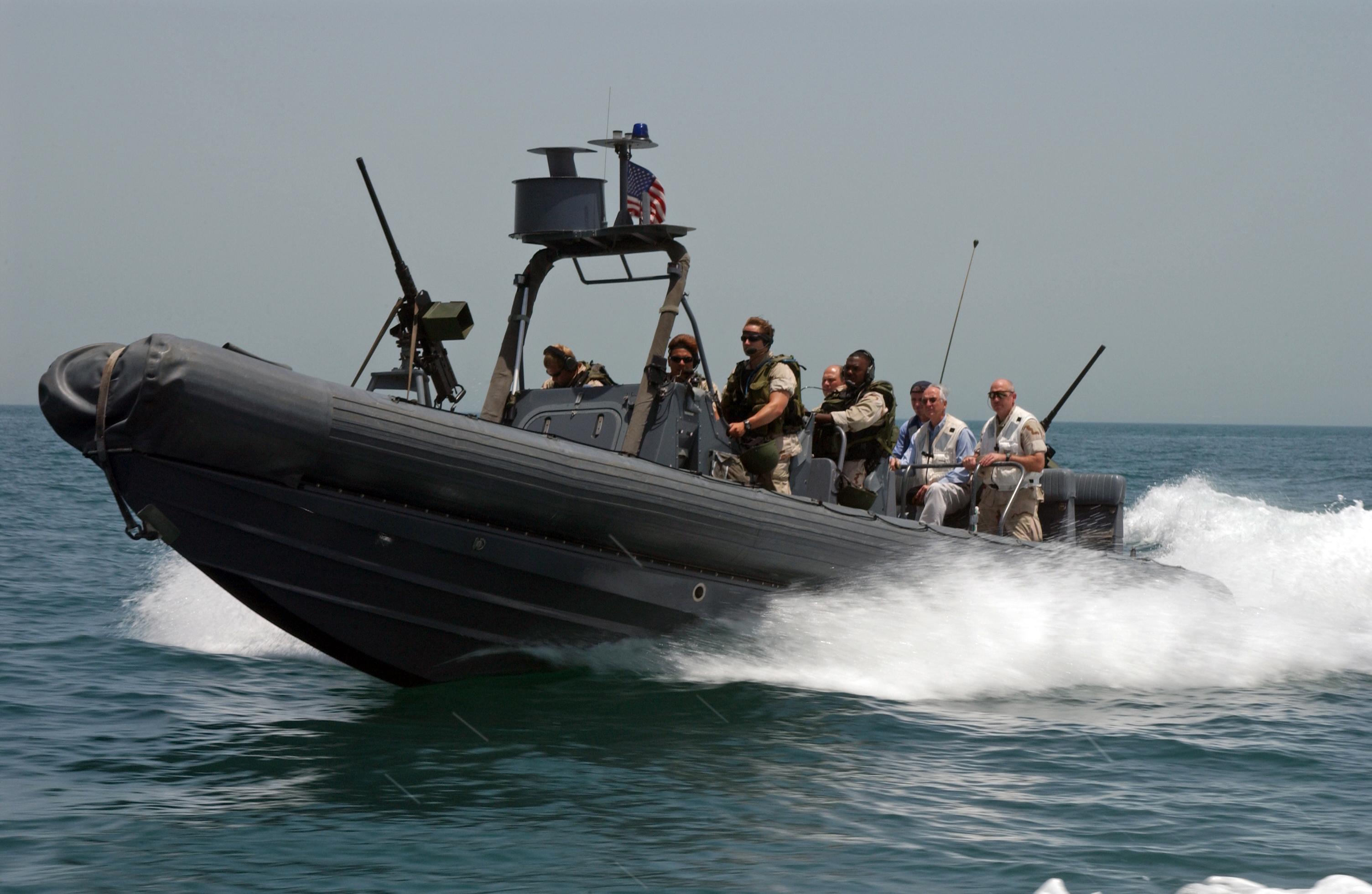 Rigid hull boat photo