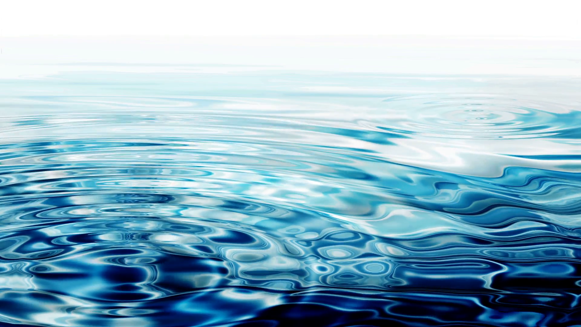 Crystal Clear Blue Water - Crystal clear water ripples on white ...