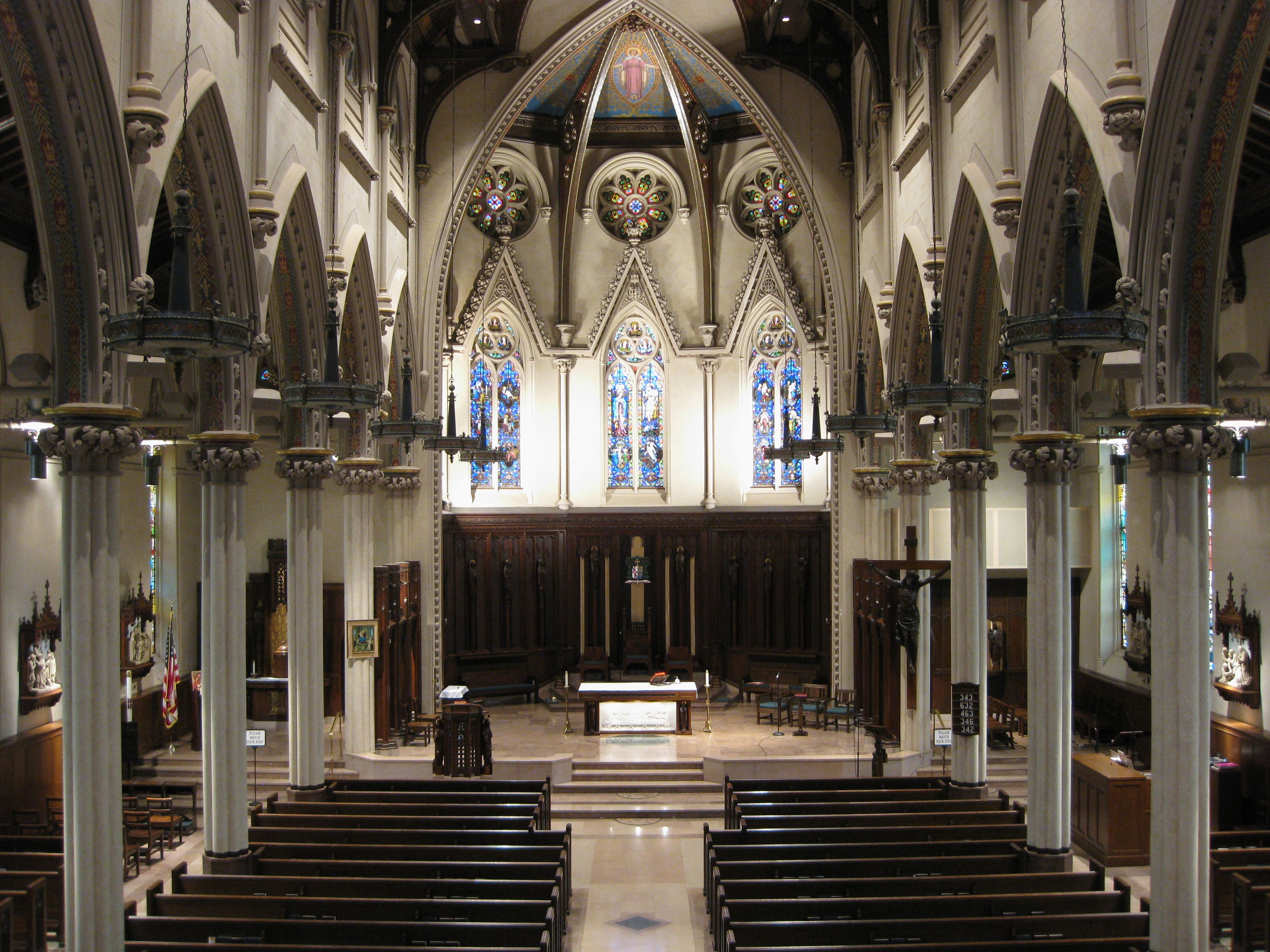 St. Mary's Cathedral. Fall River, MA. | Catholic Beauty | Pinterest ...