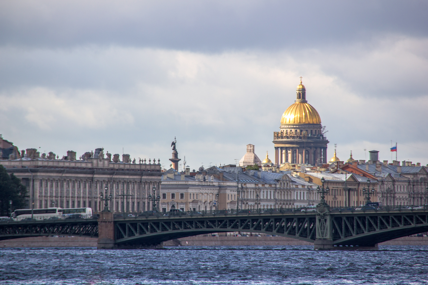 River and Cathedral, Architecture, Landmark, Shine, Saint-petersburg, HQ Photo
