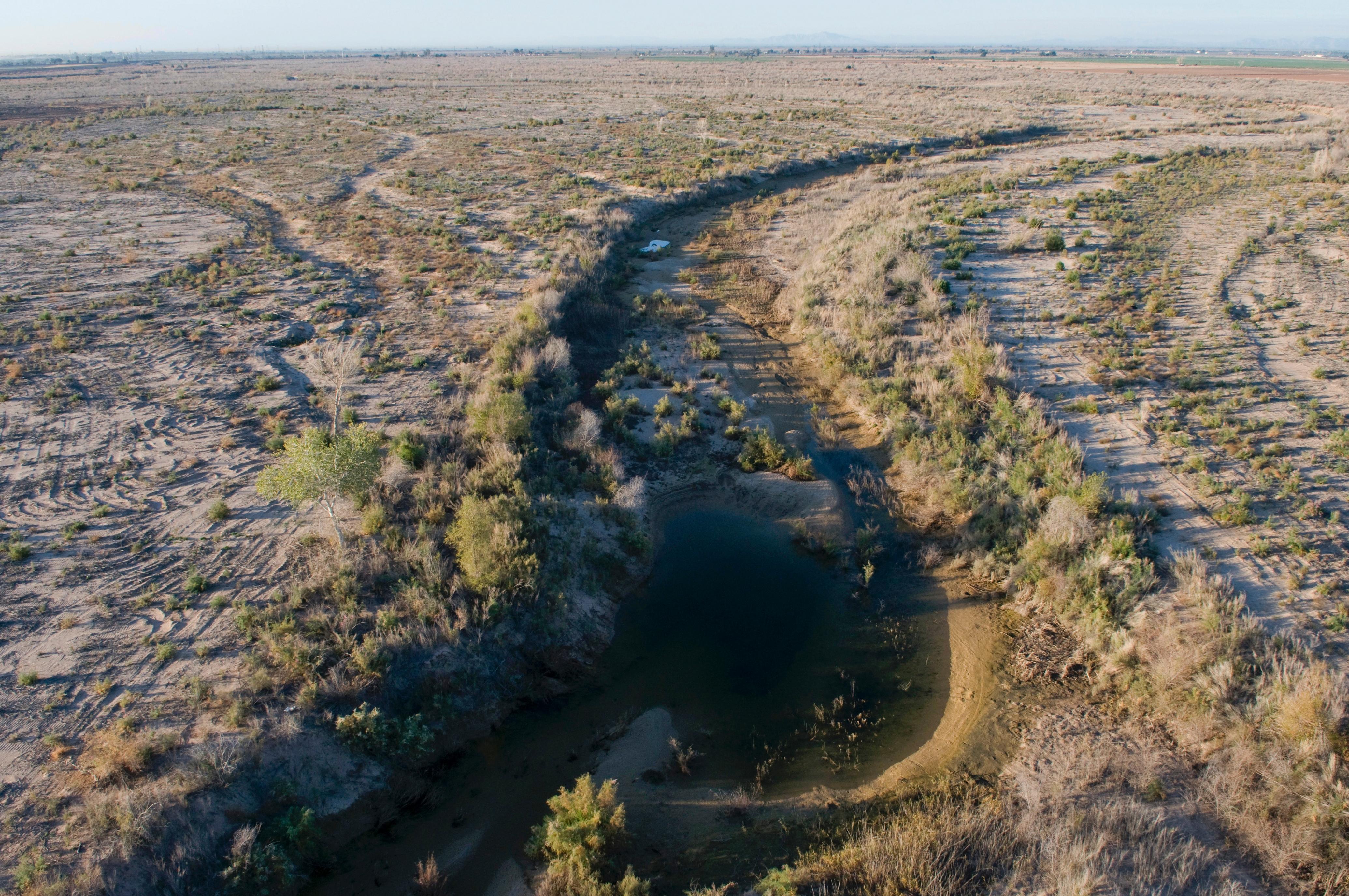 Colorado River Runs Dry