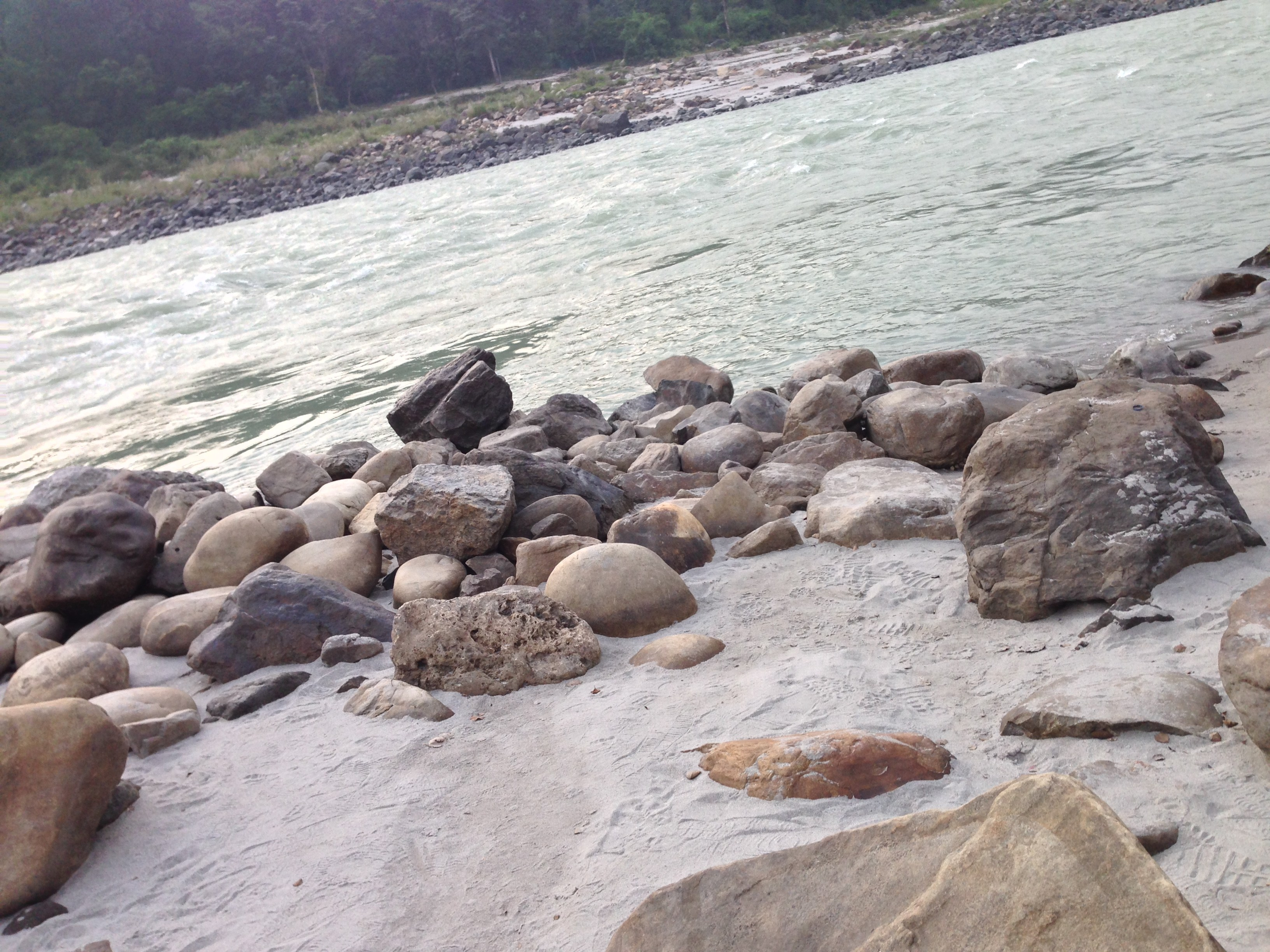 Rishikesh, a resort and a river