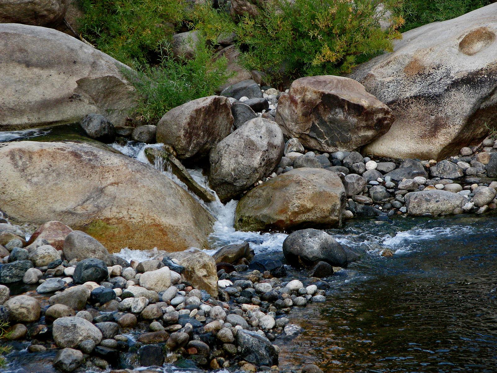 River Shore Boulders, Boulders, Bspo06, Flow, Green, HQ Photo