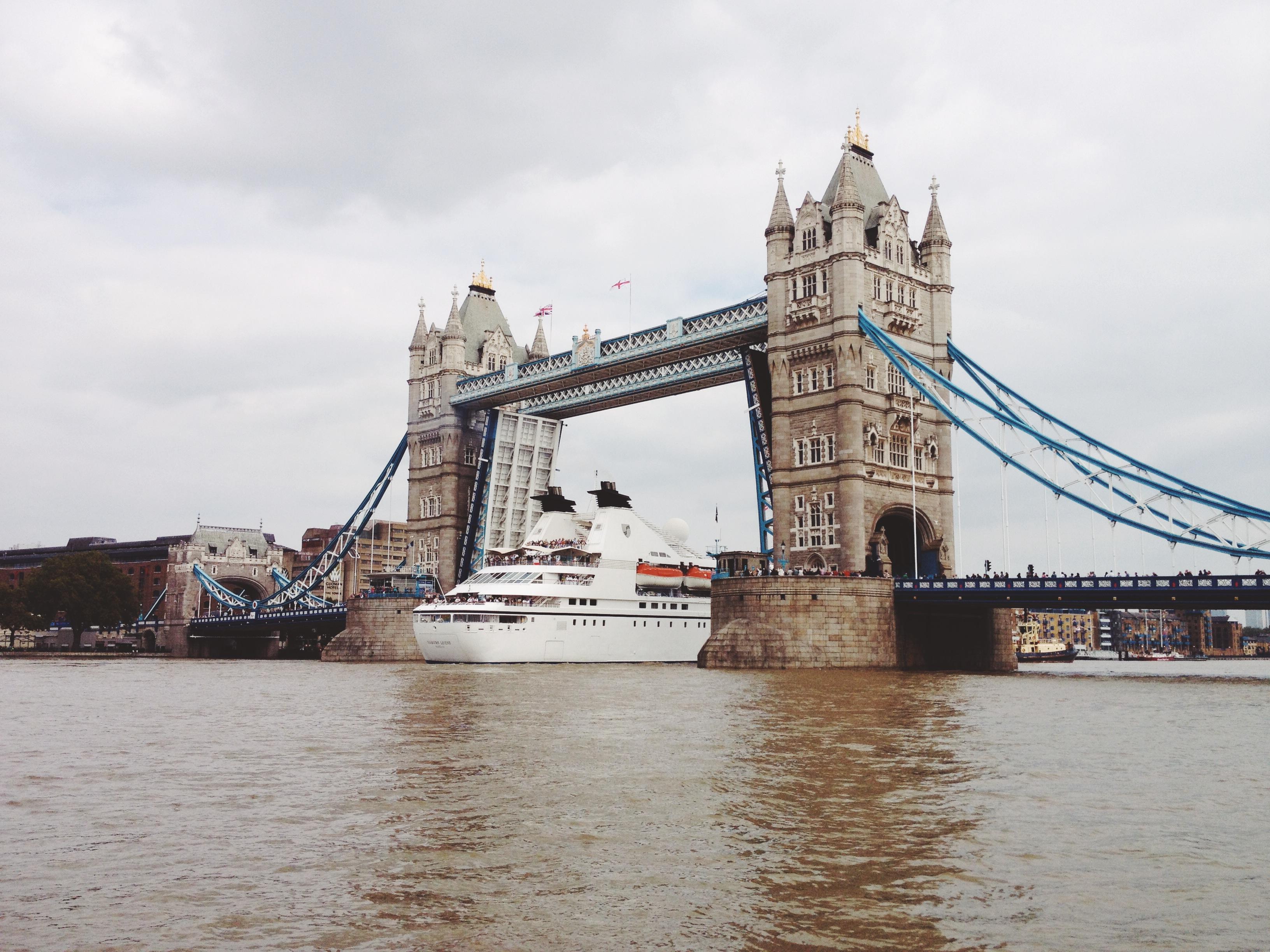 River Thames, Architecture, Boat, Bridge, Building, HQ Photo