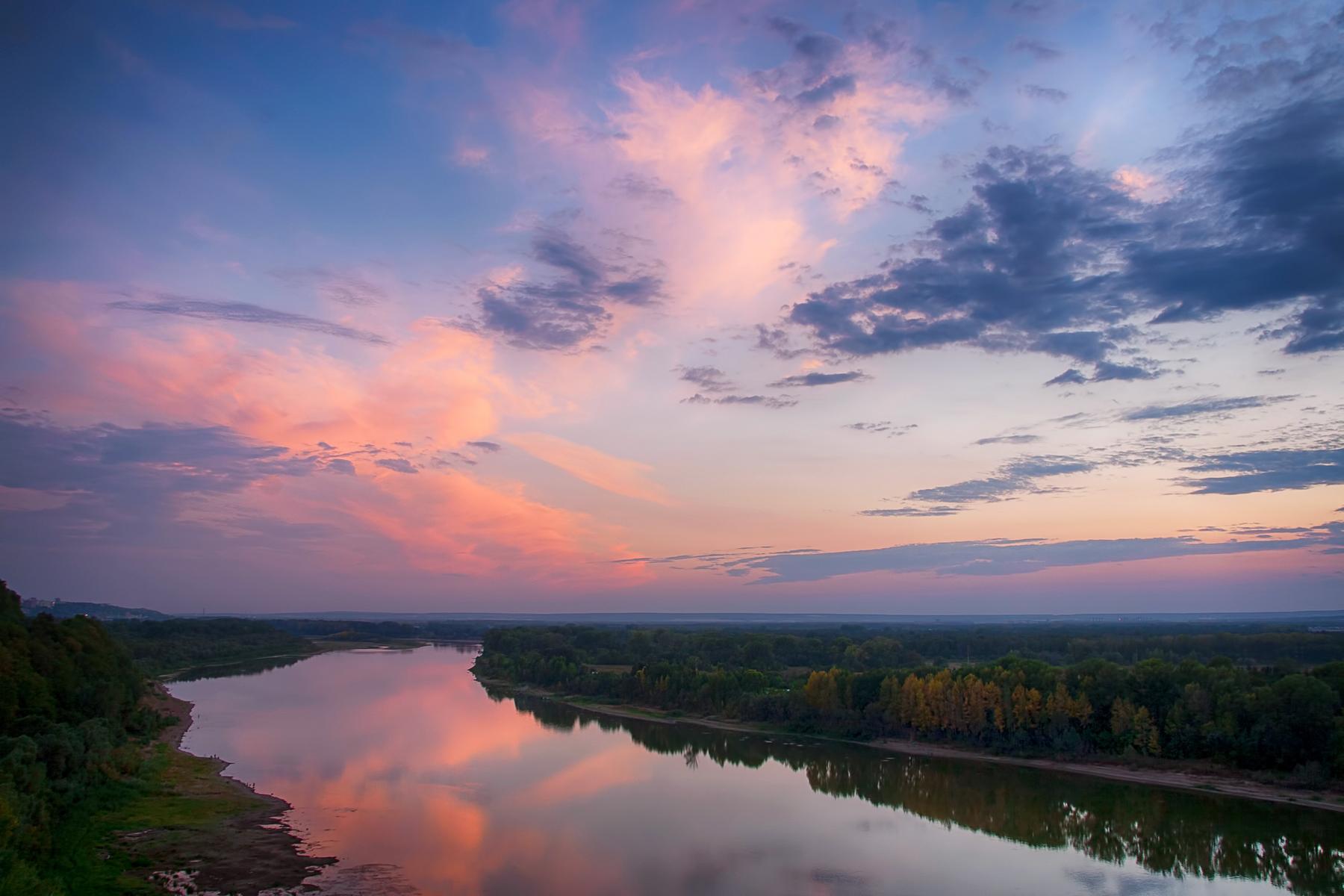 Riverscape, reflection