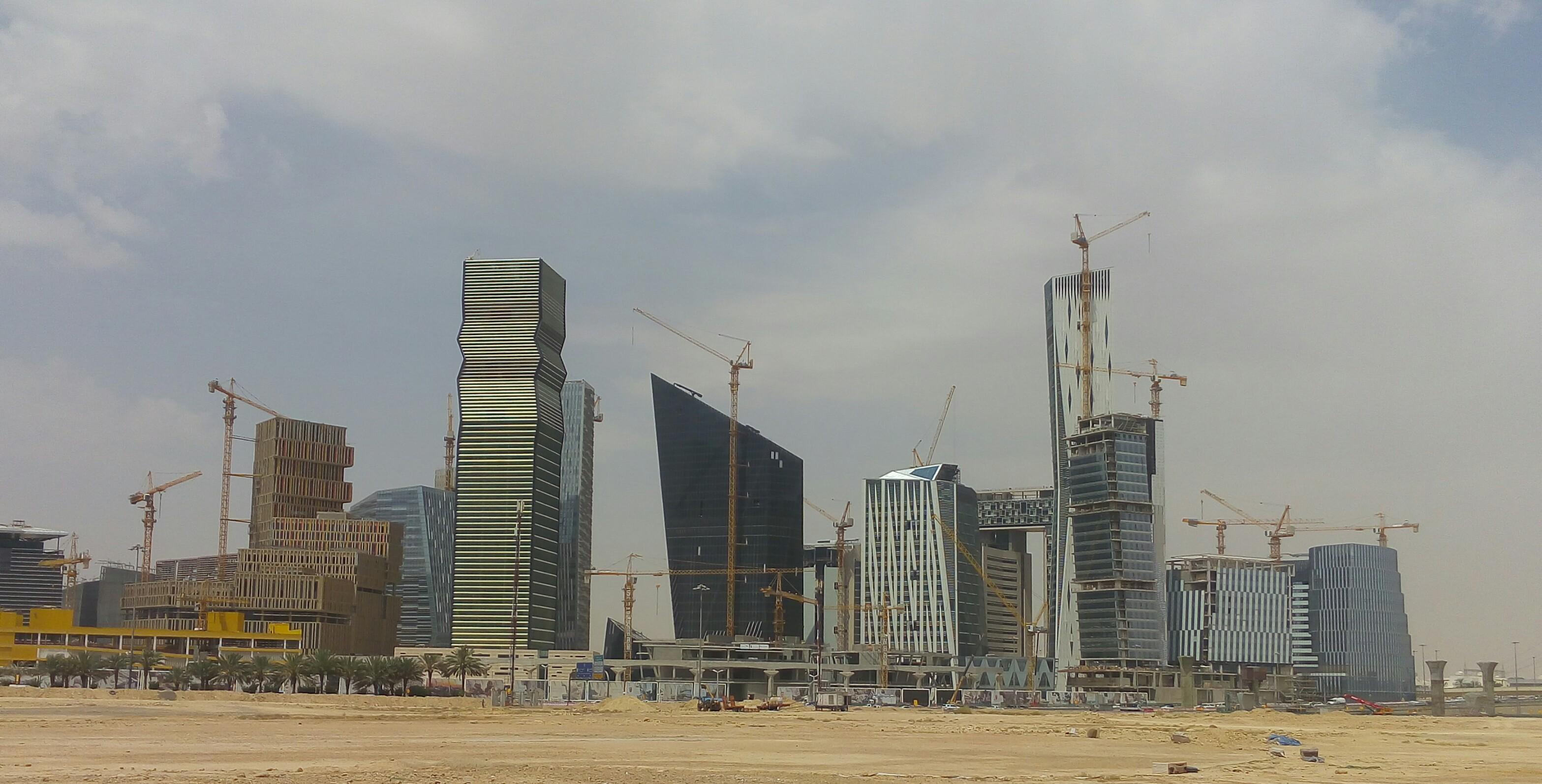 Riyadh City view, Architecture, Building, City, Construction, HQ Photo