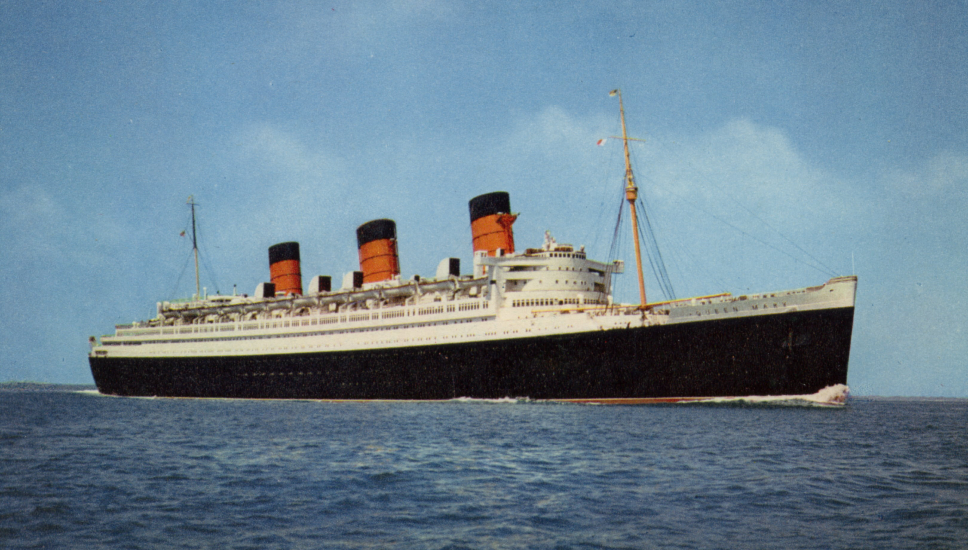 RMS Queen Mary - Her Career
