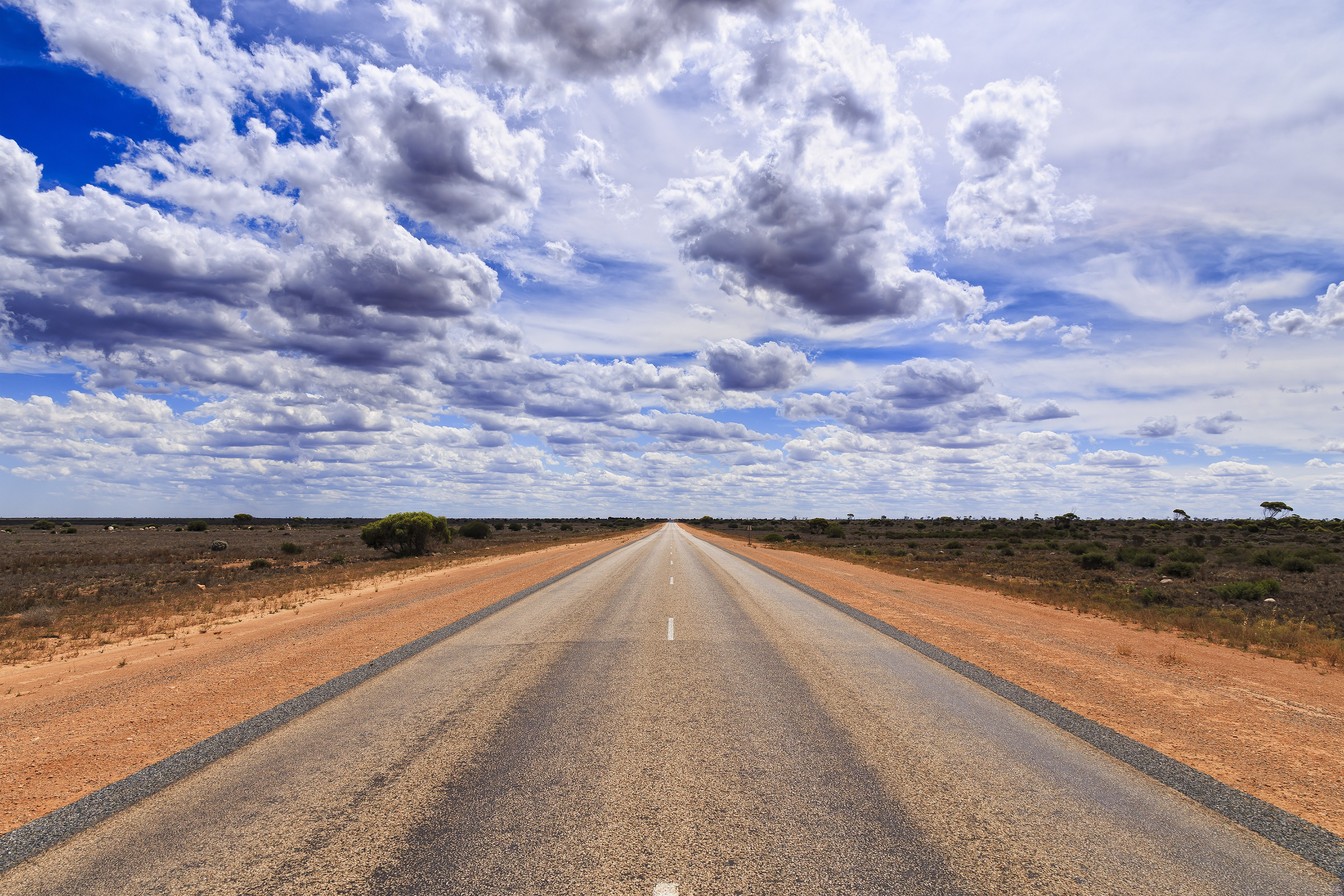 The Longest Straight Road in the World Is... - Condé Nast Traveler